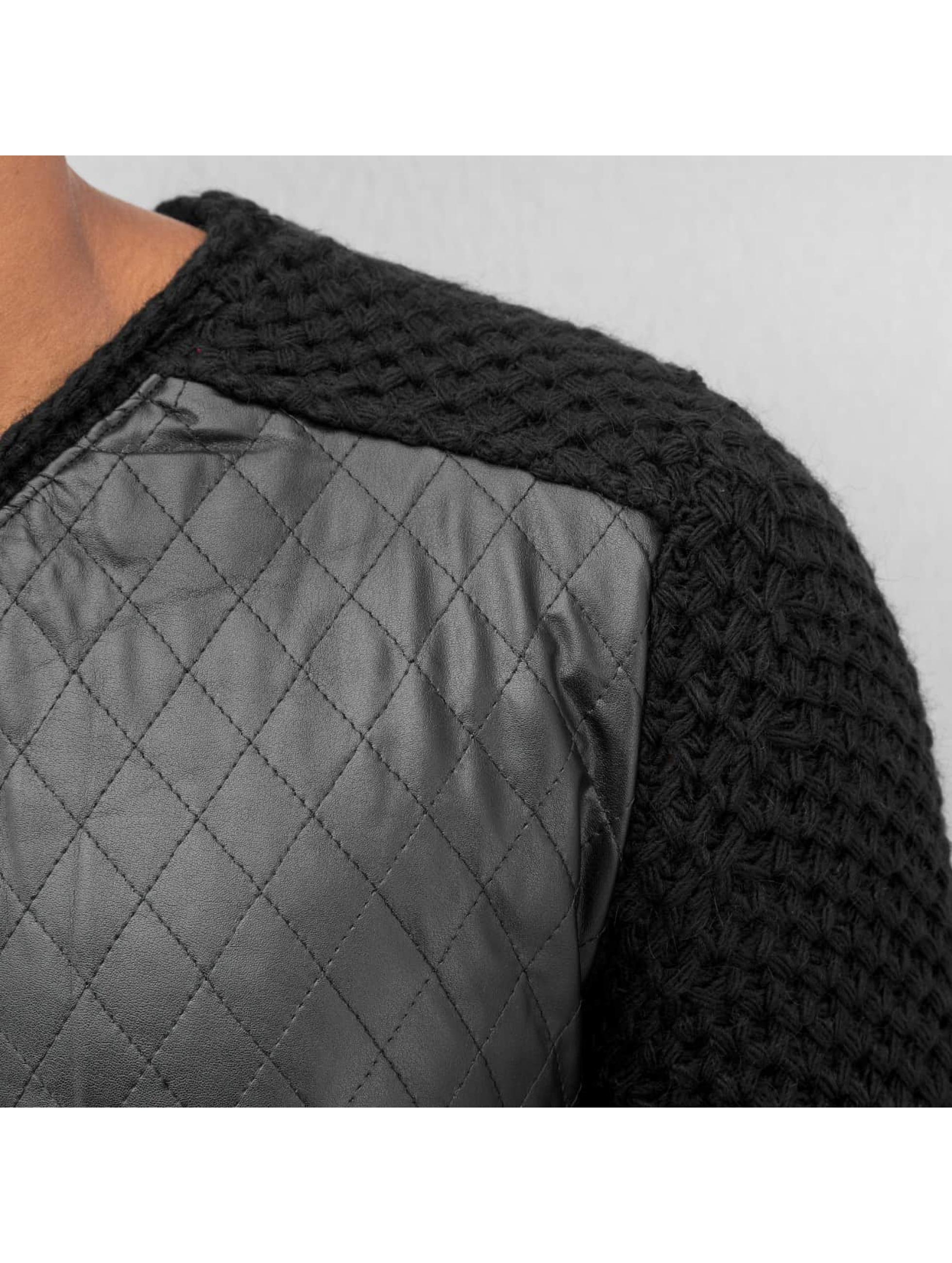 Bangastic trui Quilt zwart