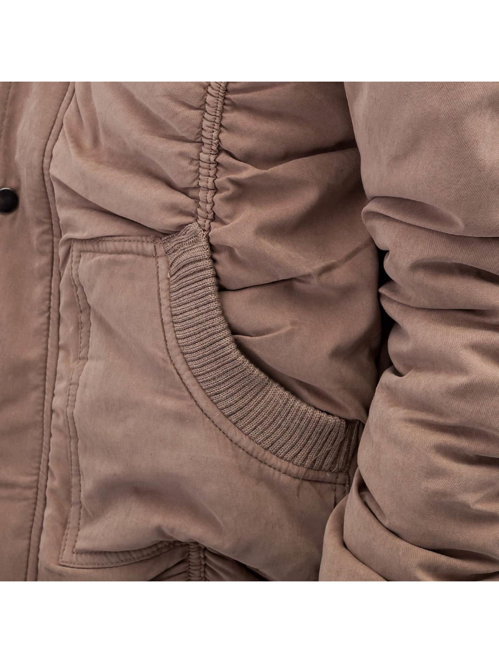 Bangastic winterjas Soft bruin