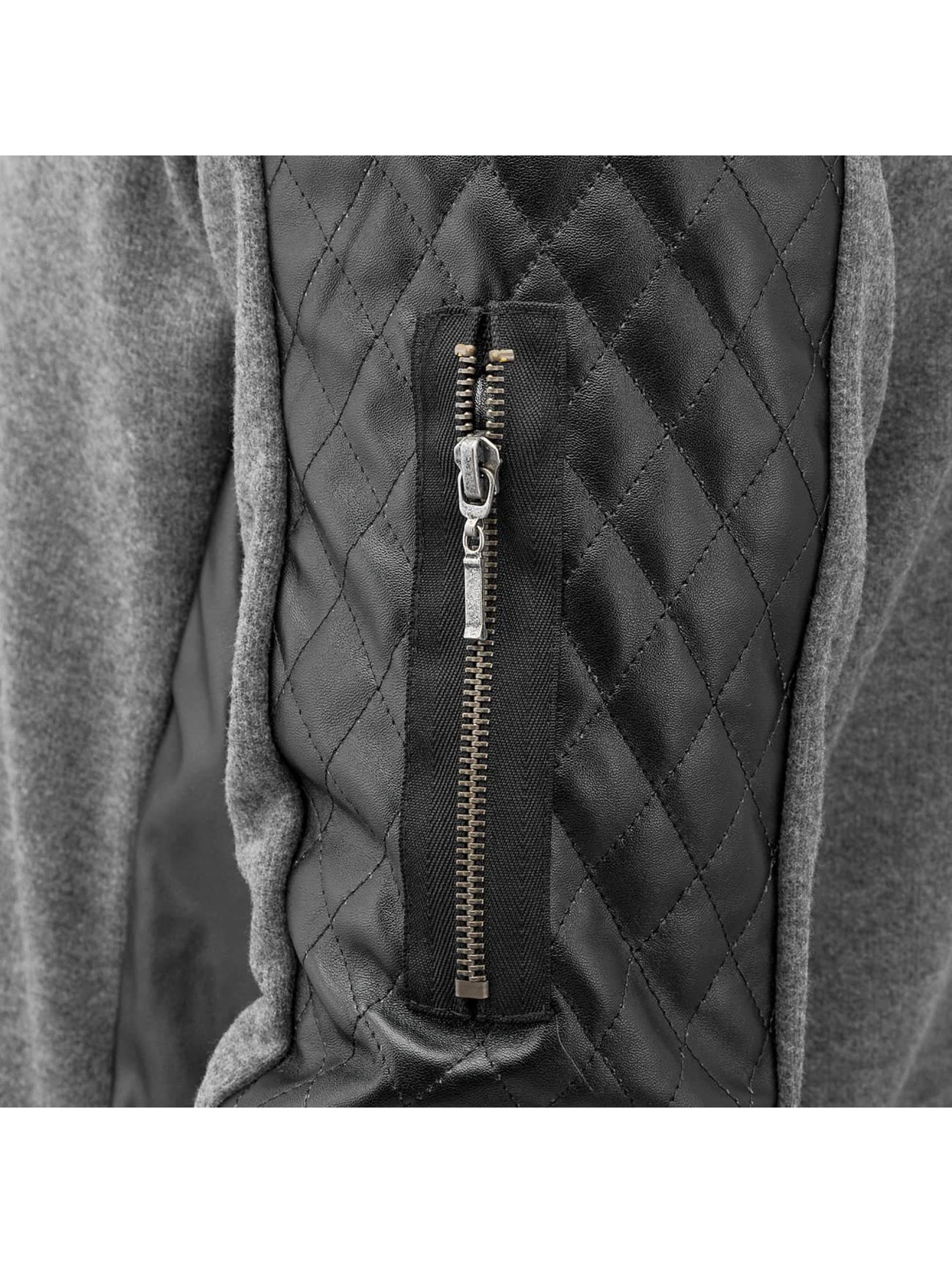 Bangastic Zip Hoodie PU серый