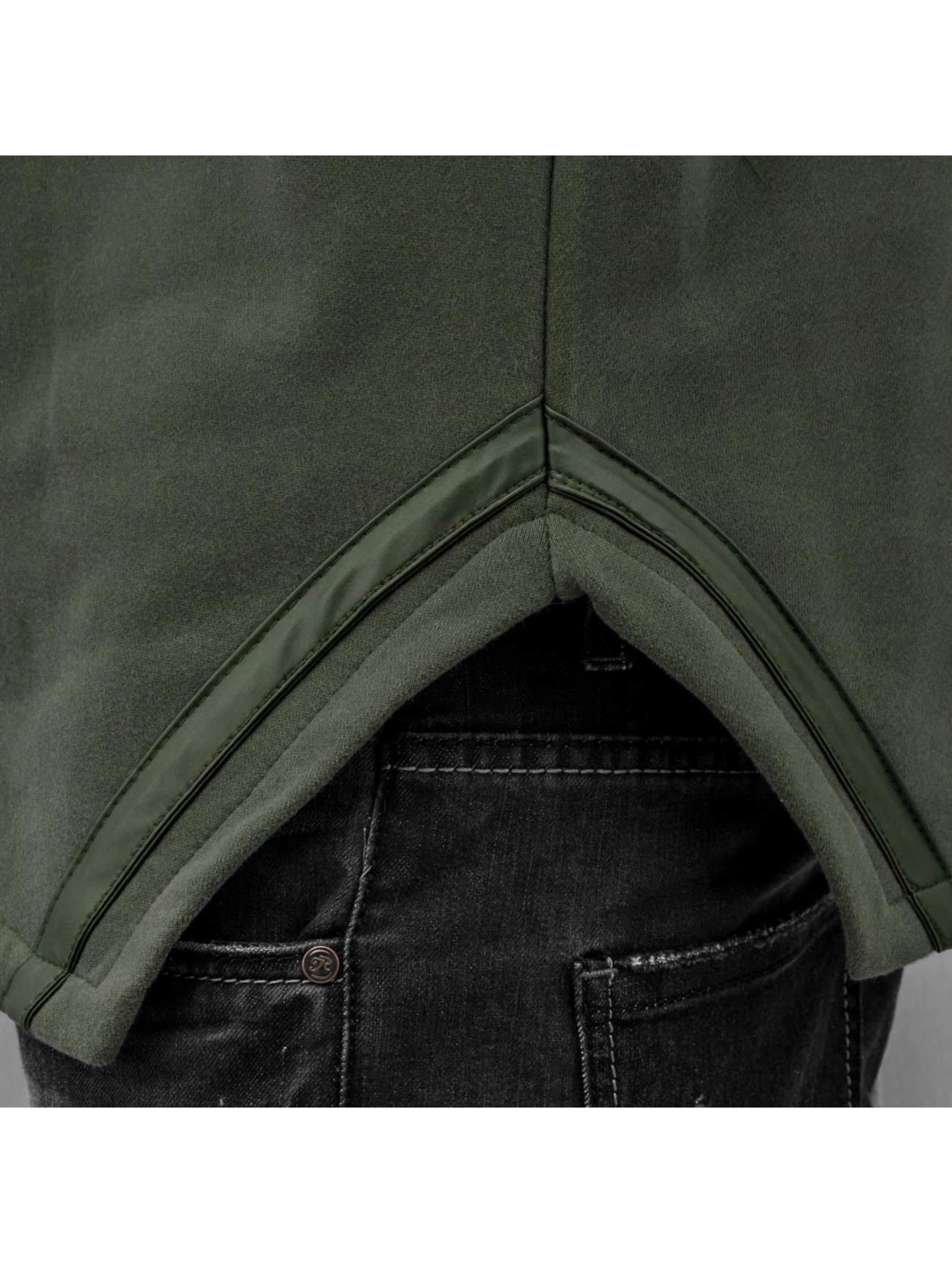 Bangastic Zip Hoodie Eupen oliwkowy