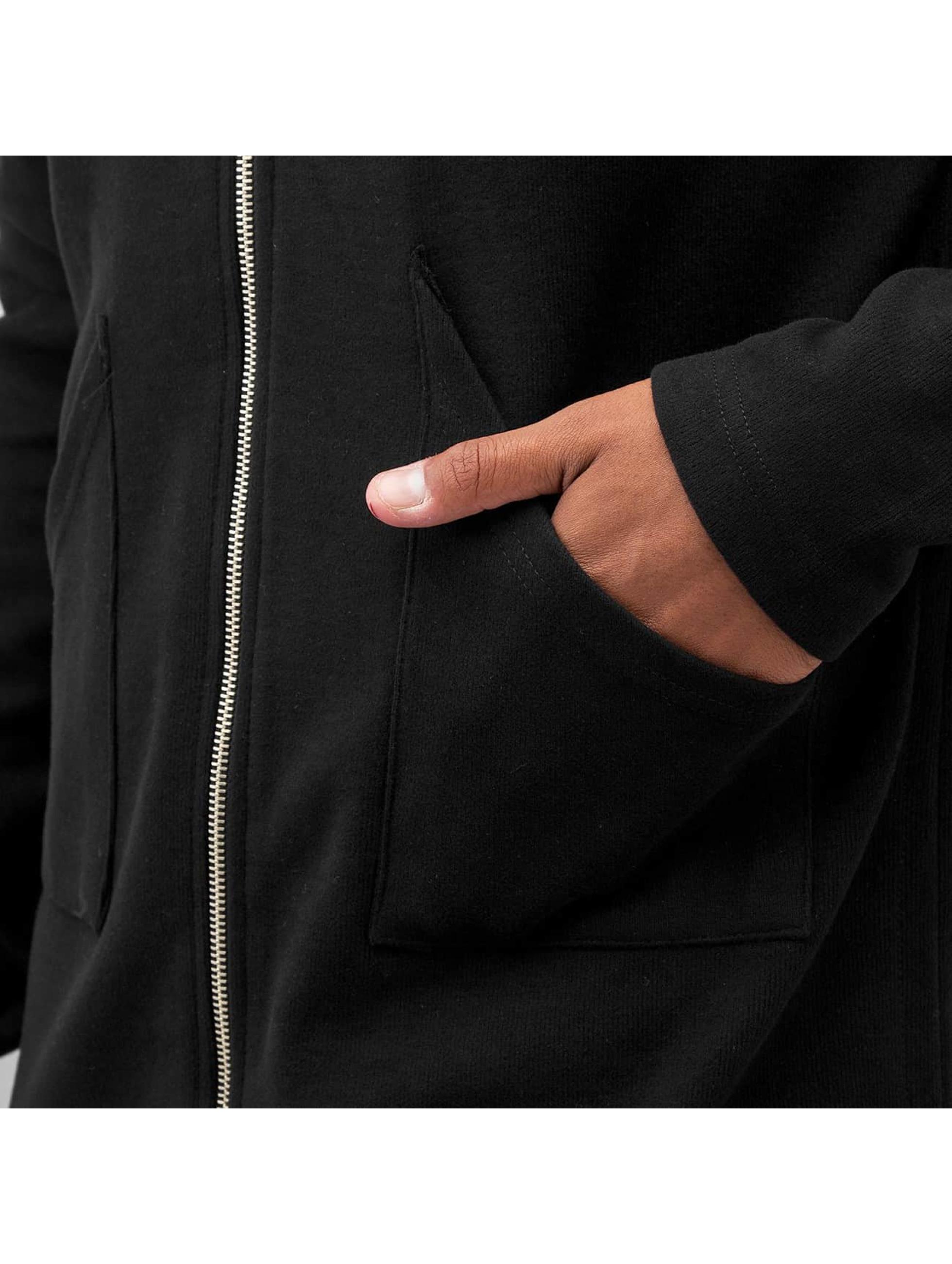 Bangastic Zip Hoodie Long II schwarz