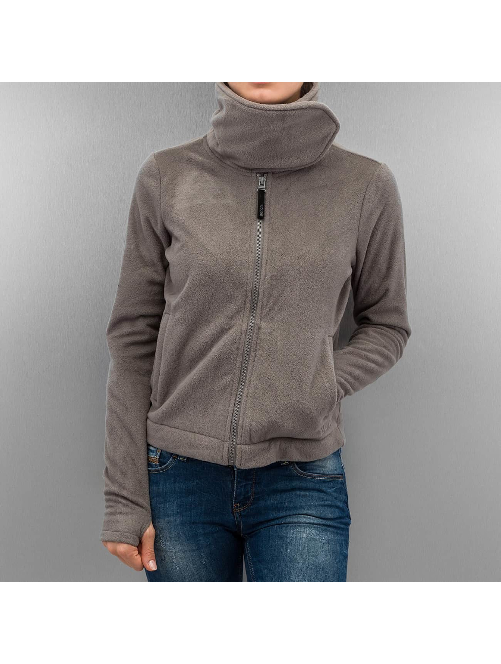 Bench Демисезонная куртка Difference Fleece Jacket серый