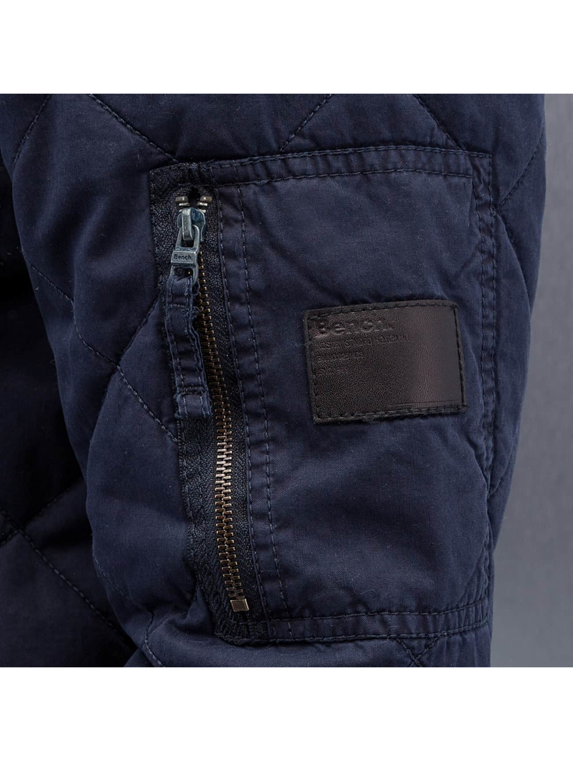 Bench Куртка-бомбардир Trail синий