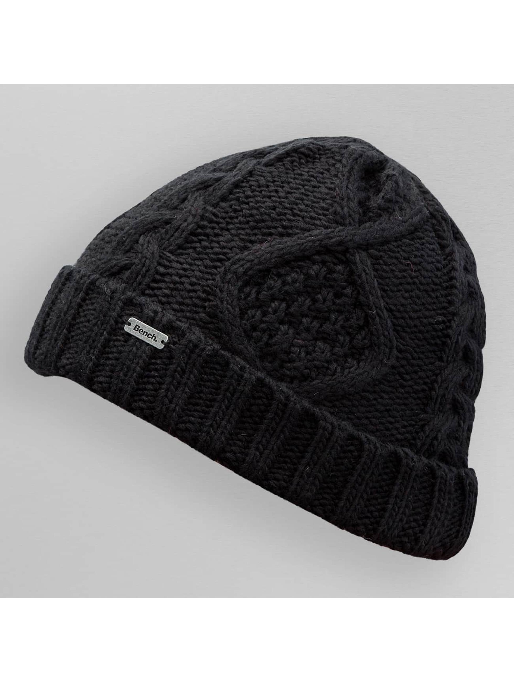 Bench Beanie Careen Knit zwart
