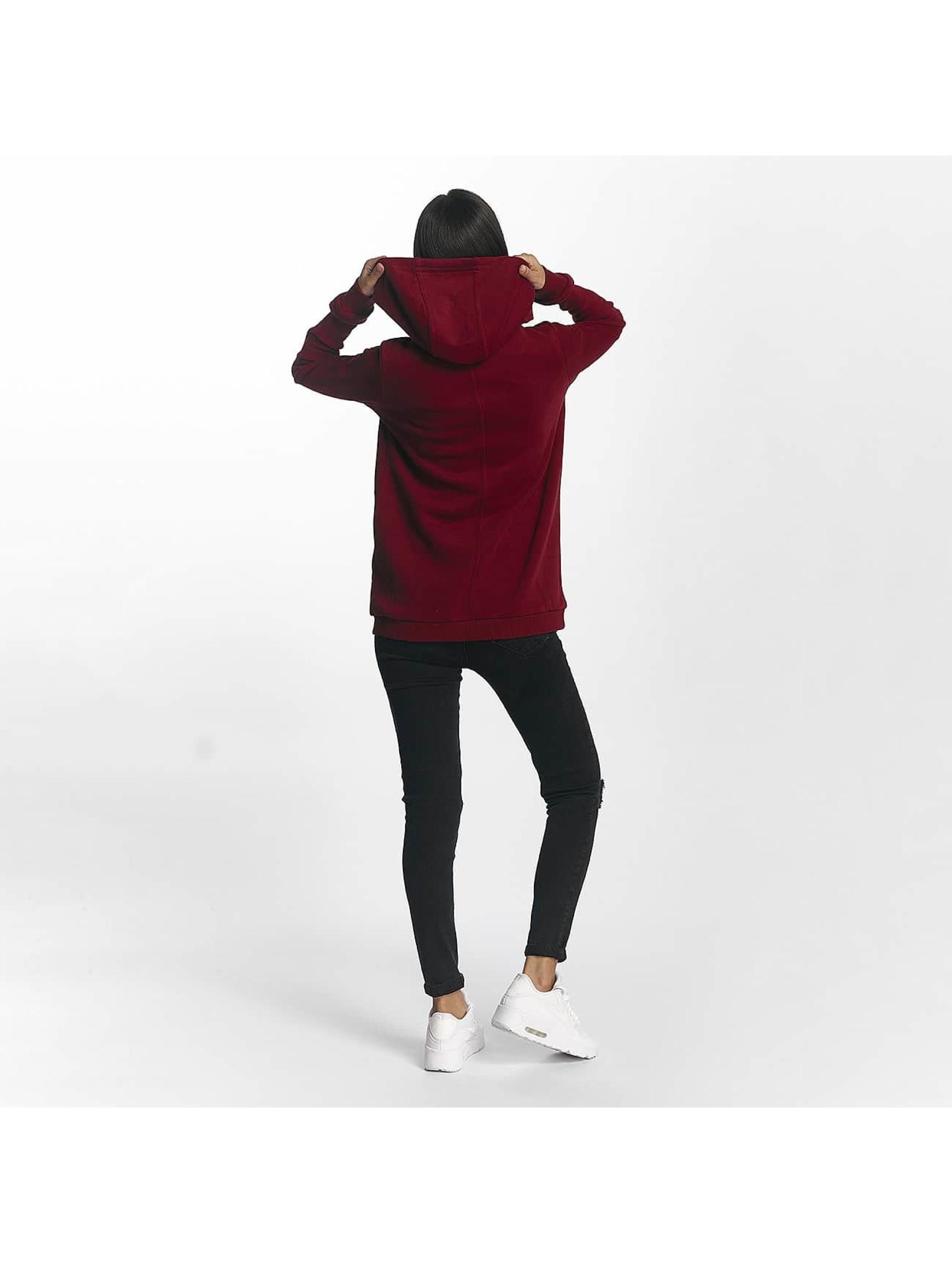 Bench Bluzy z kapturem Corp Print czerwony