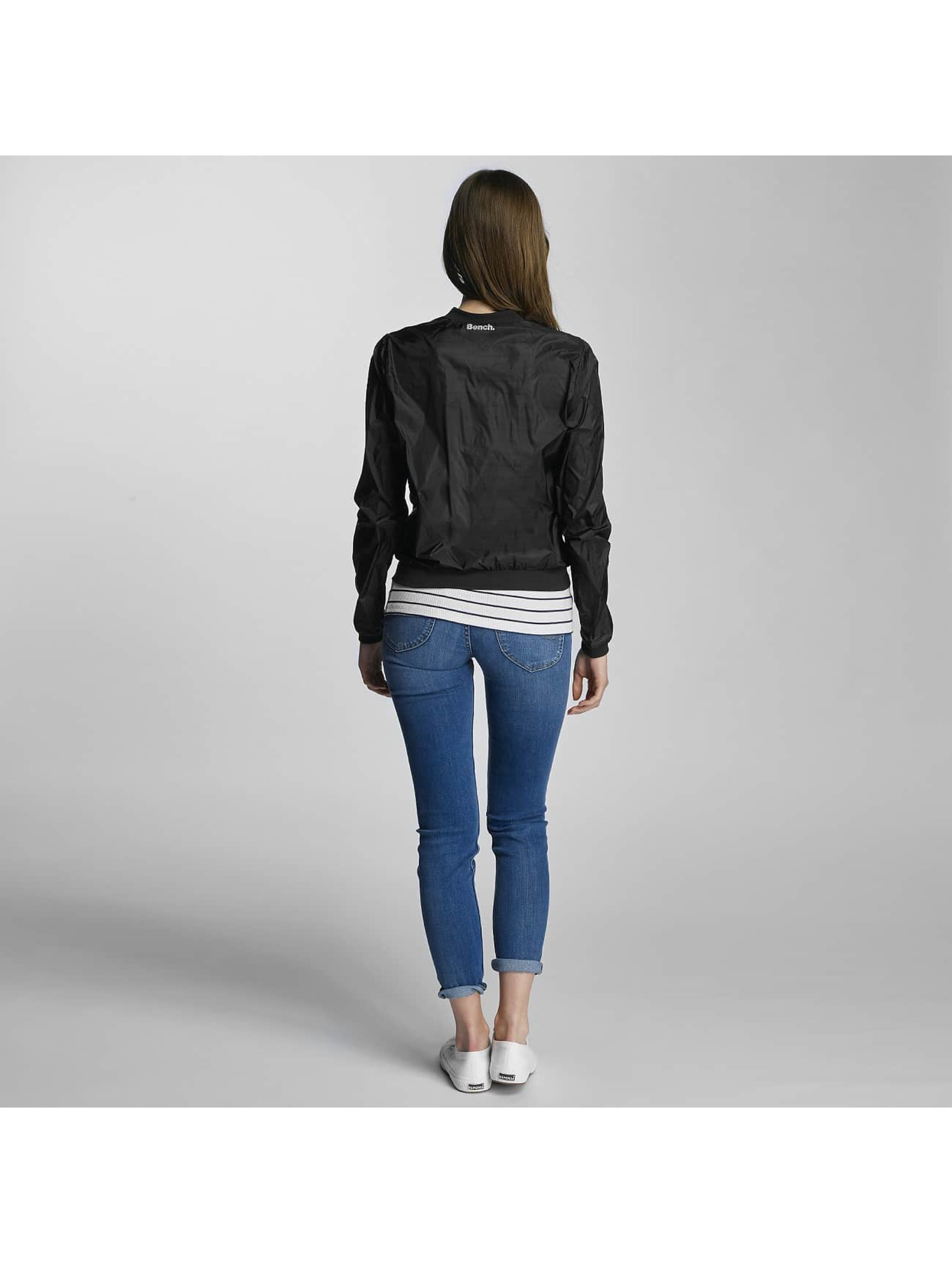 Bench Bomber jacket Transparent Indoor black