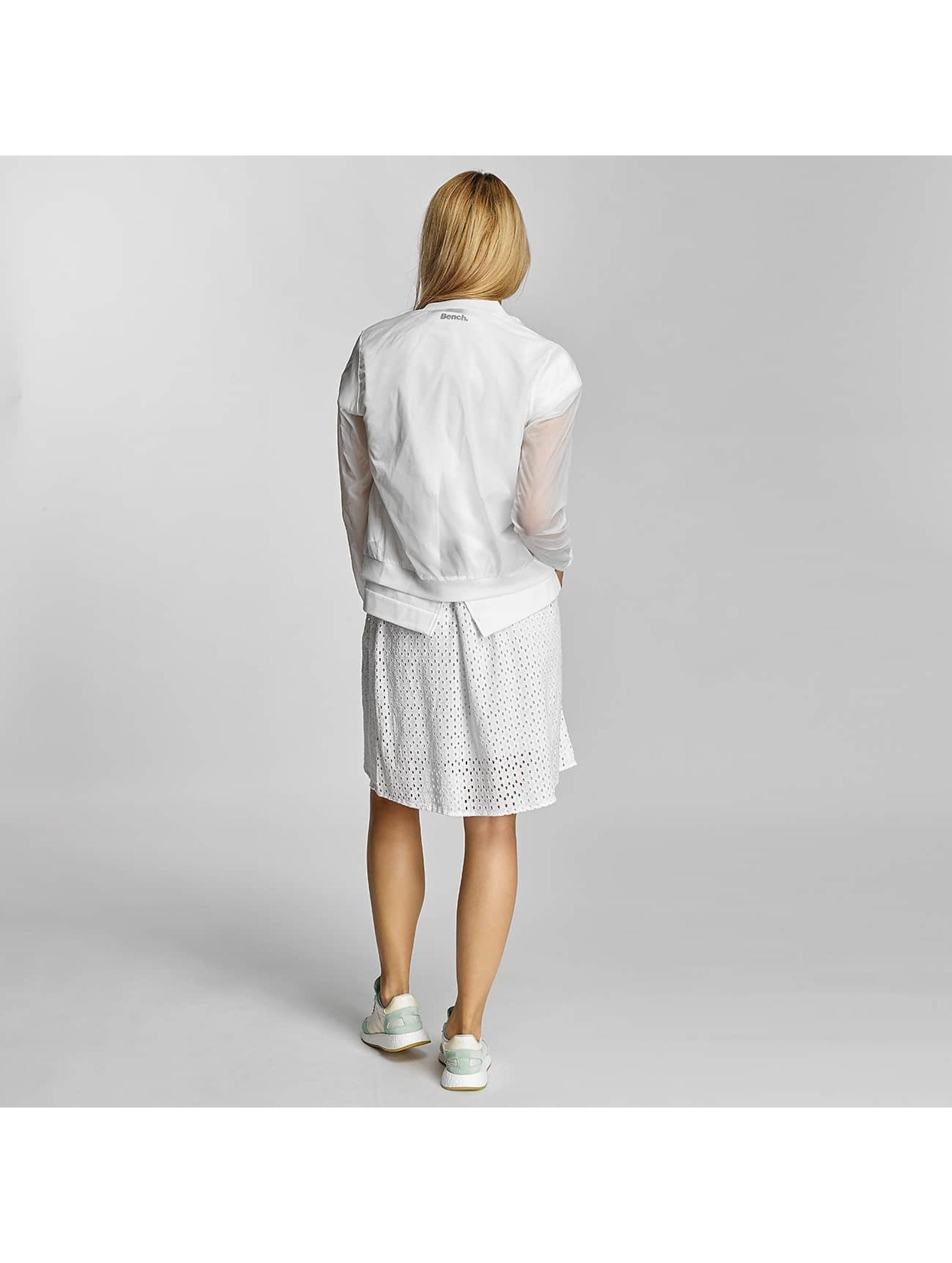 Bench Bomberová bunda Transparent Indoor biela