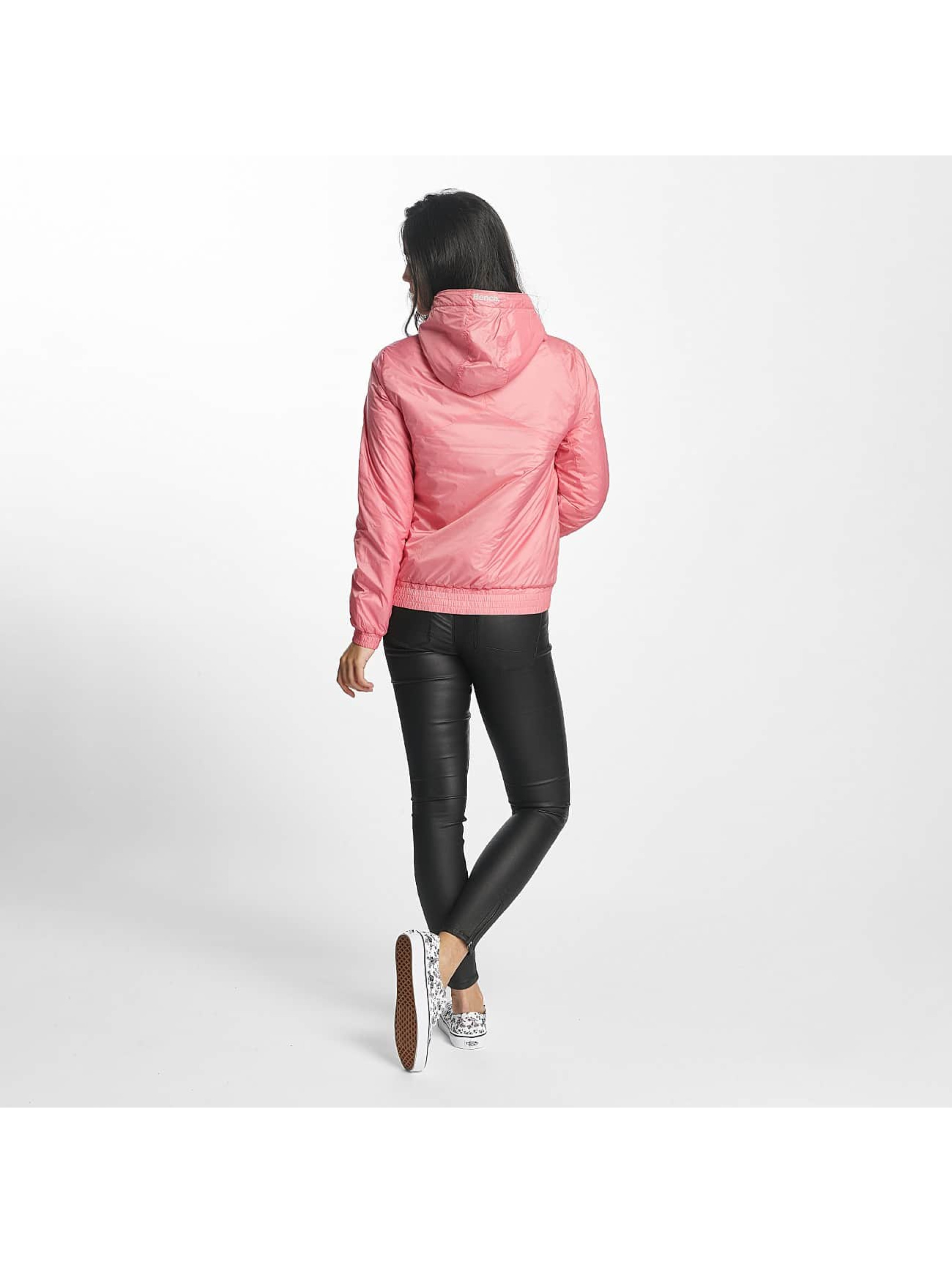 Bench Giacca Mezza Stagione Light Padded rosa chiaro