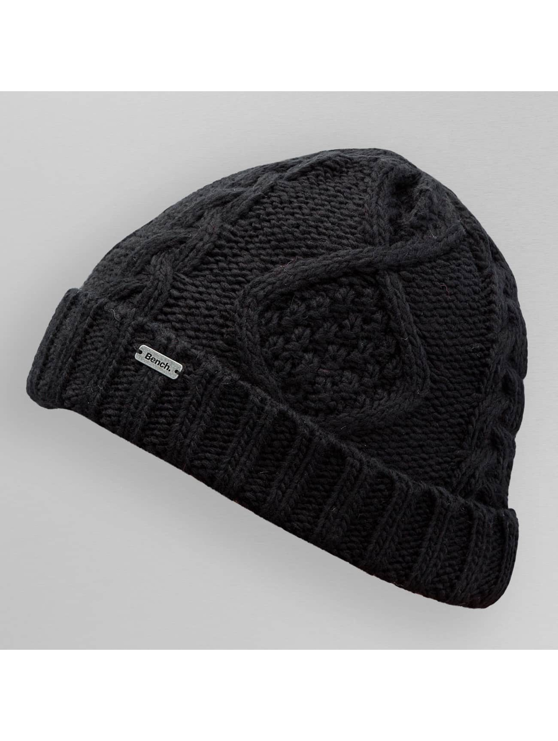 Bench Hat-1 Careen Knit black