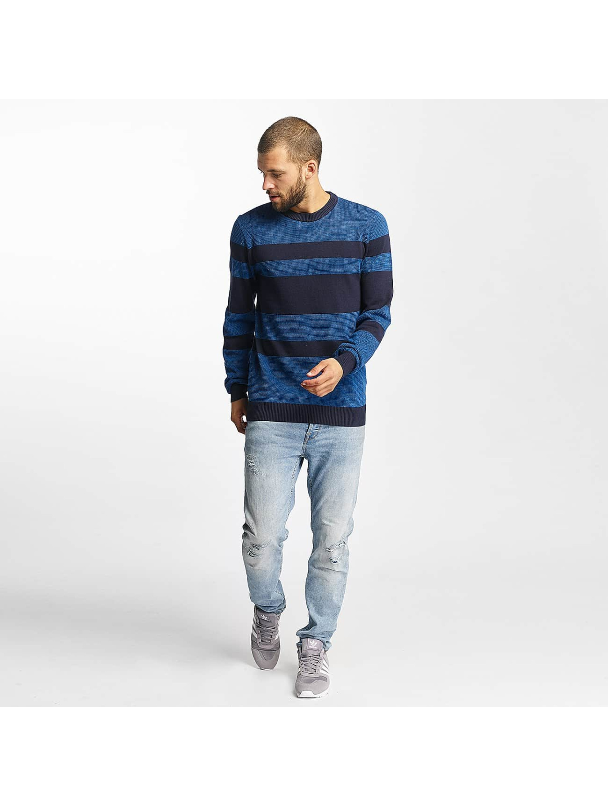 Bench Jersey Structured Stripe azul