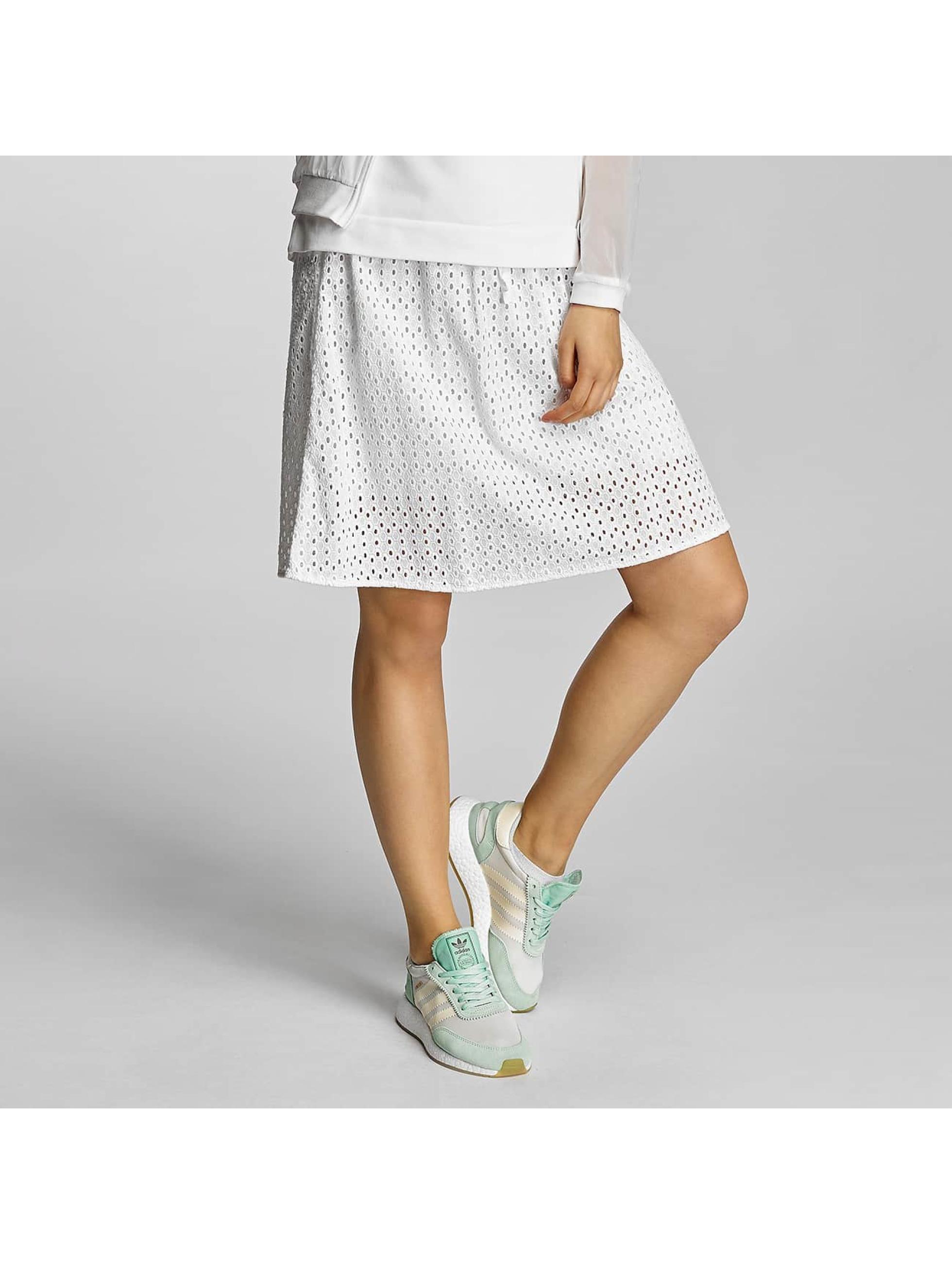 Bench / Jupe Cotton Crochet en blanc