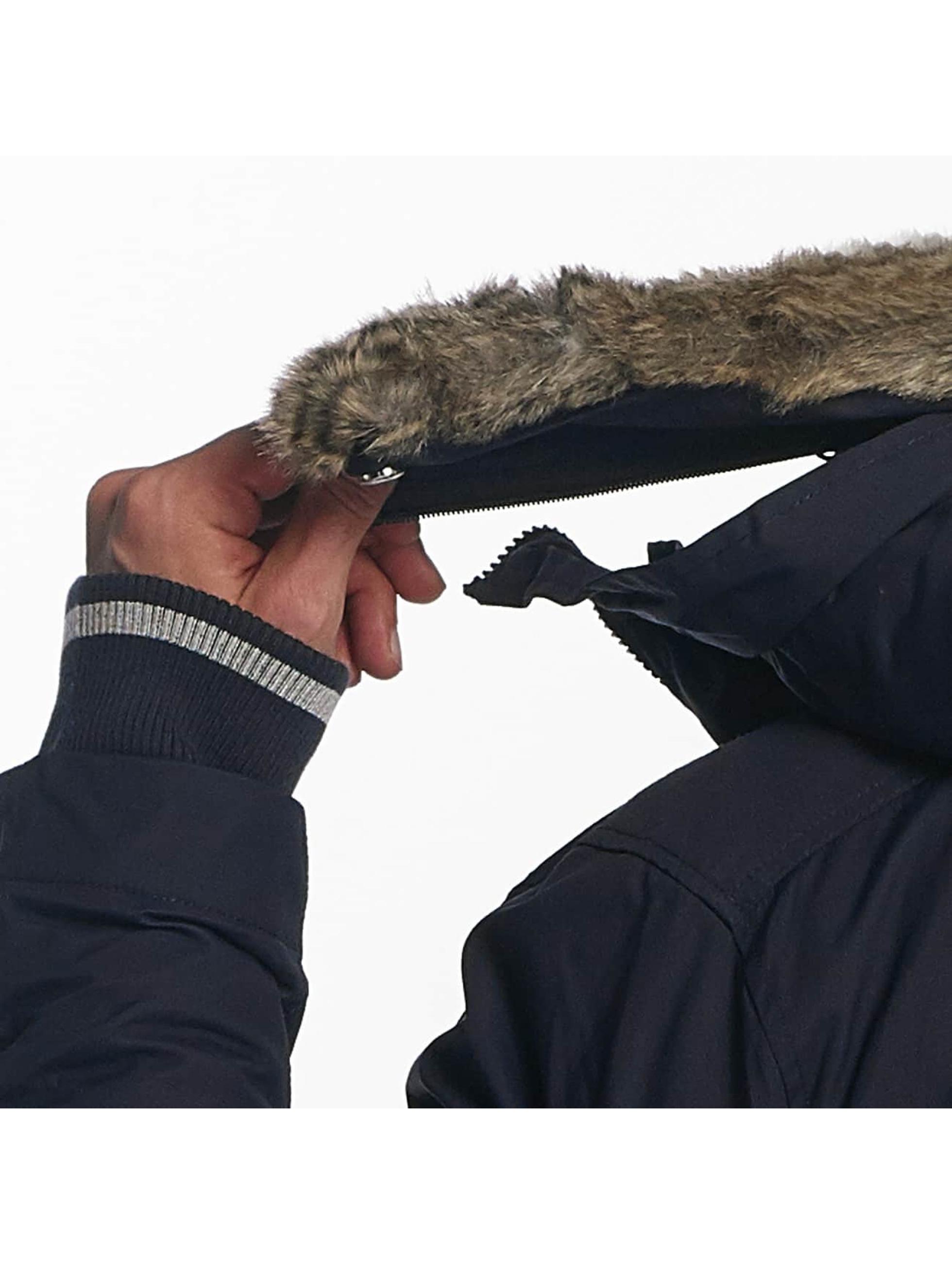 Bench Kurtki zimowe BLMK001056 niebieski