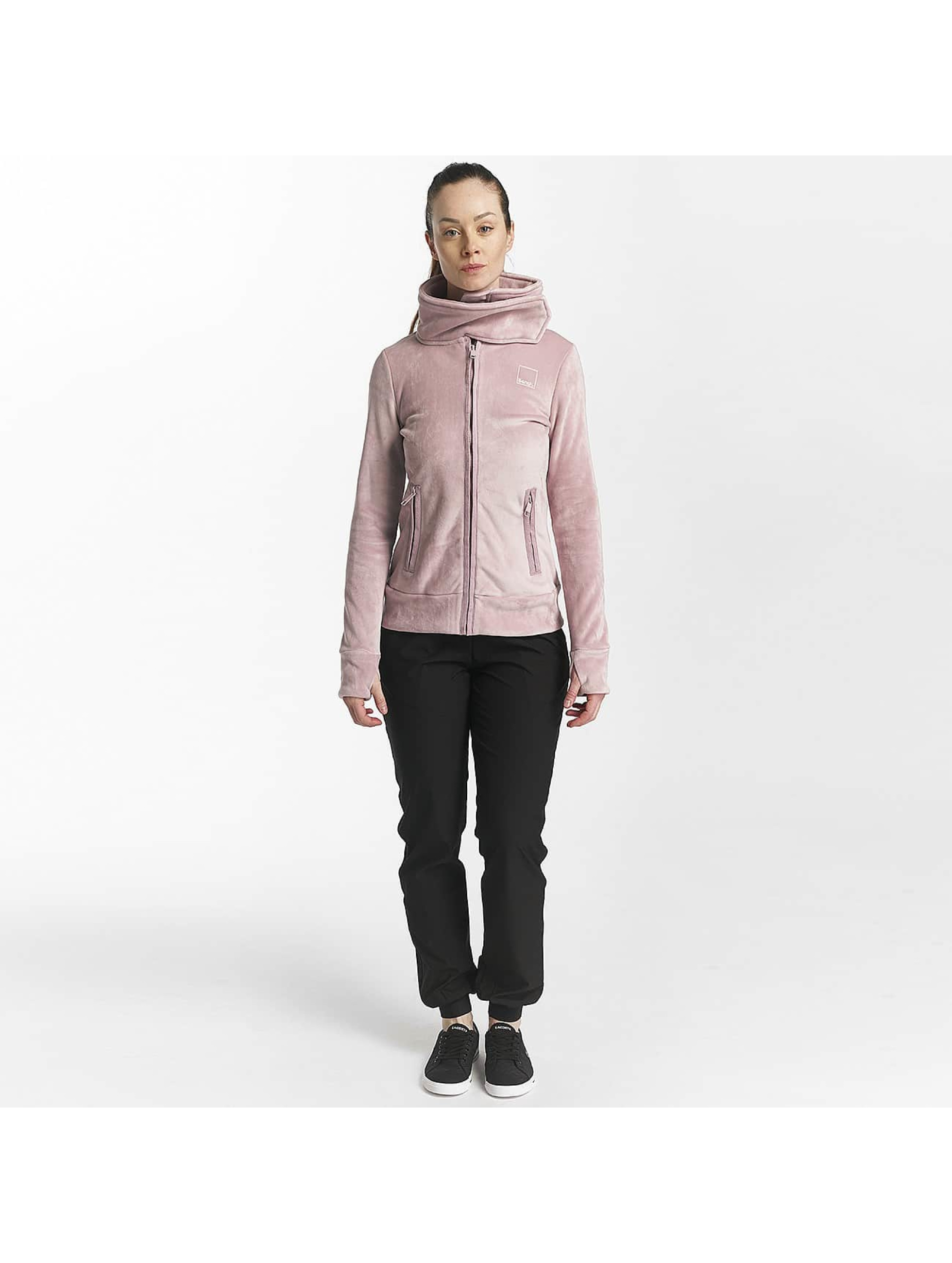 Bench Lightweight Jacket Fleece Funnel rose