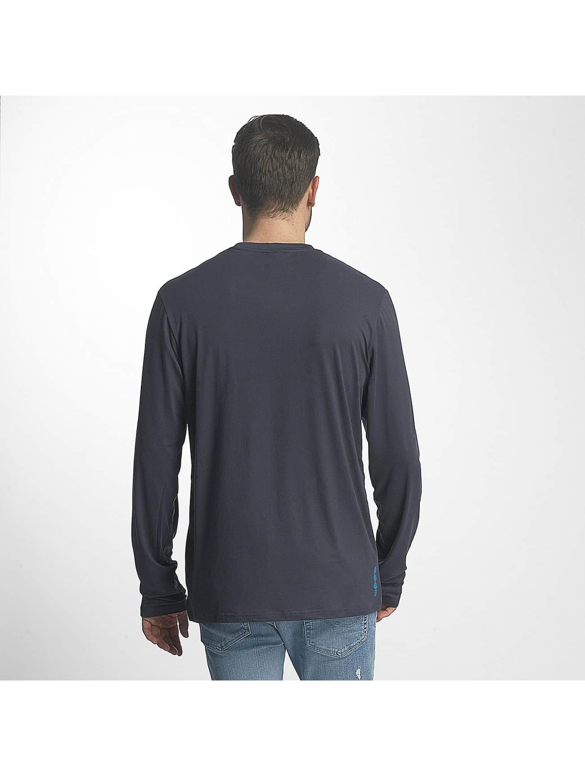 Bench Maglietta a manica lunga Corp blu