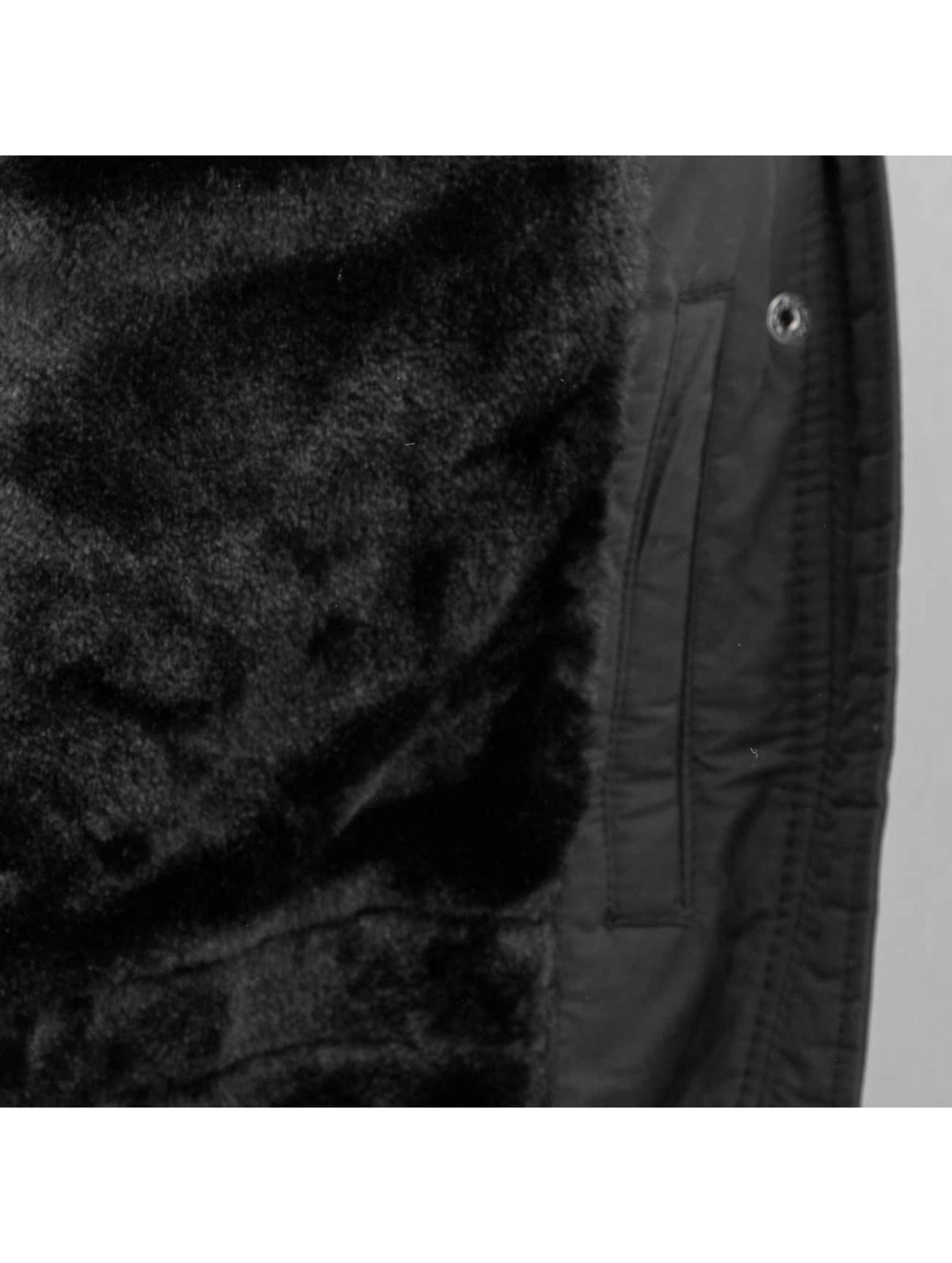 Bench Mantel Expressionist schwarz