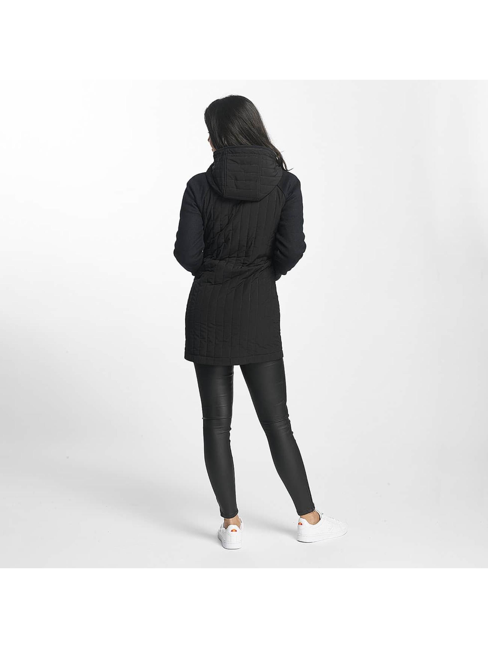 Bench Parka Core Slim Mix zwart