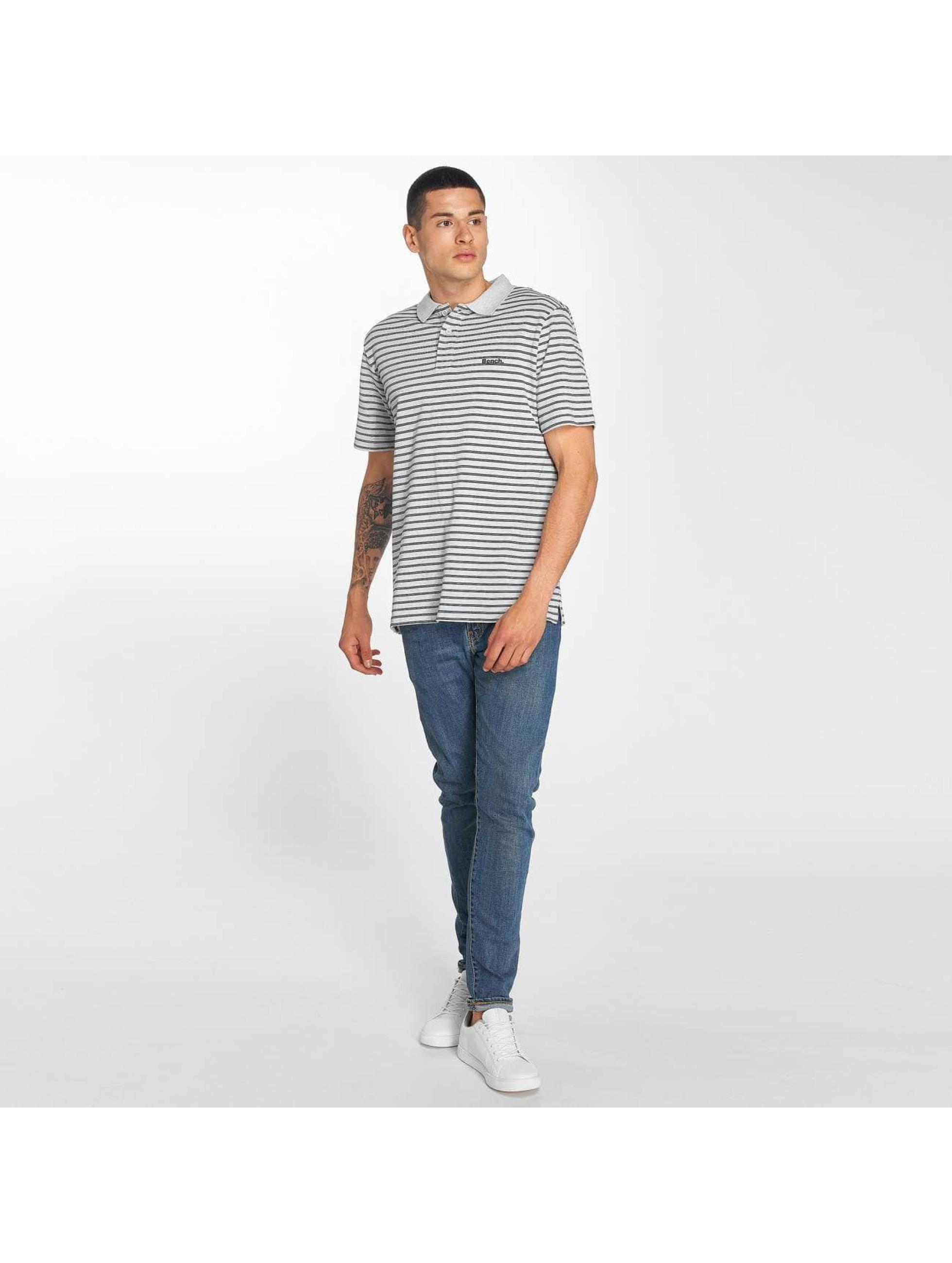 Bench Polo Y/D Stripe gris