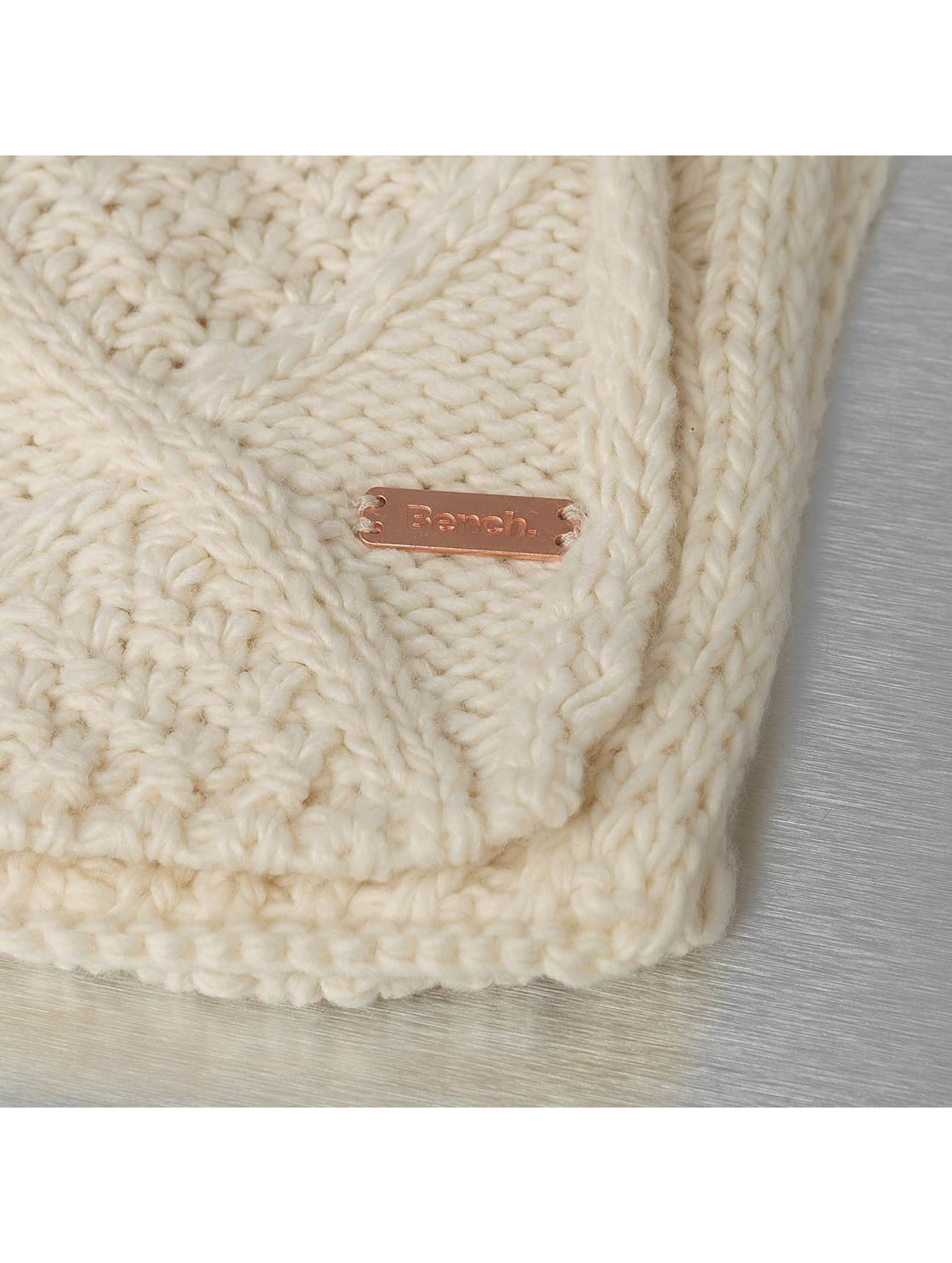 Bench Sjal/tørkler Careen Cable Knit beige
