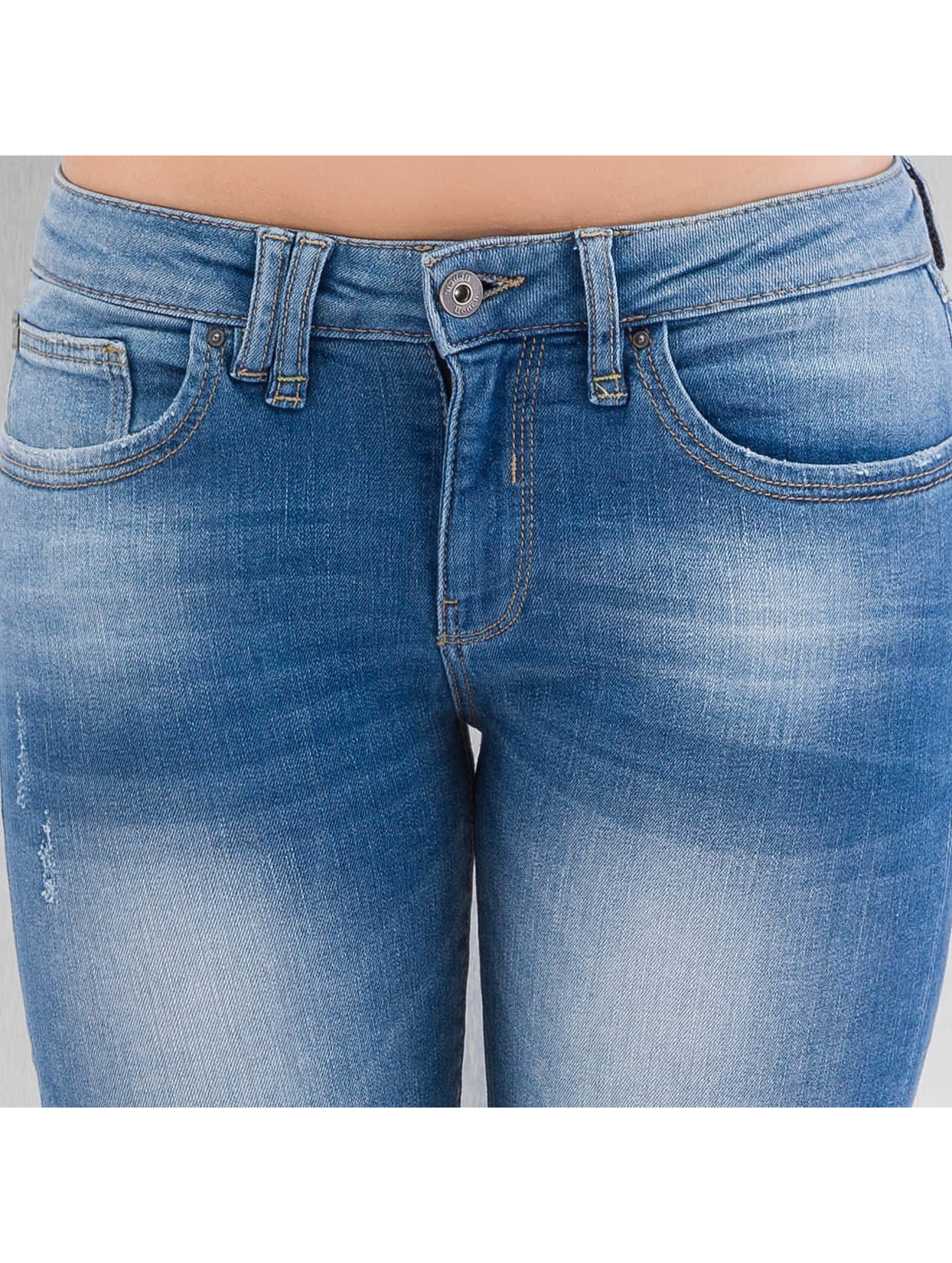 Bench Skinny Jeans Rip And Repair blue