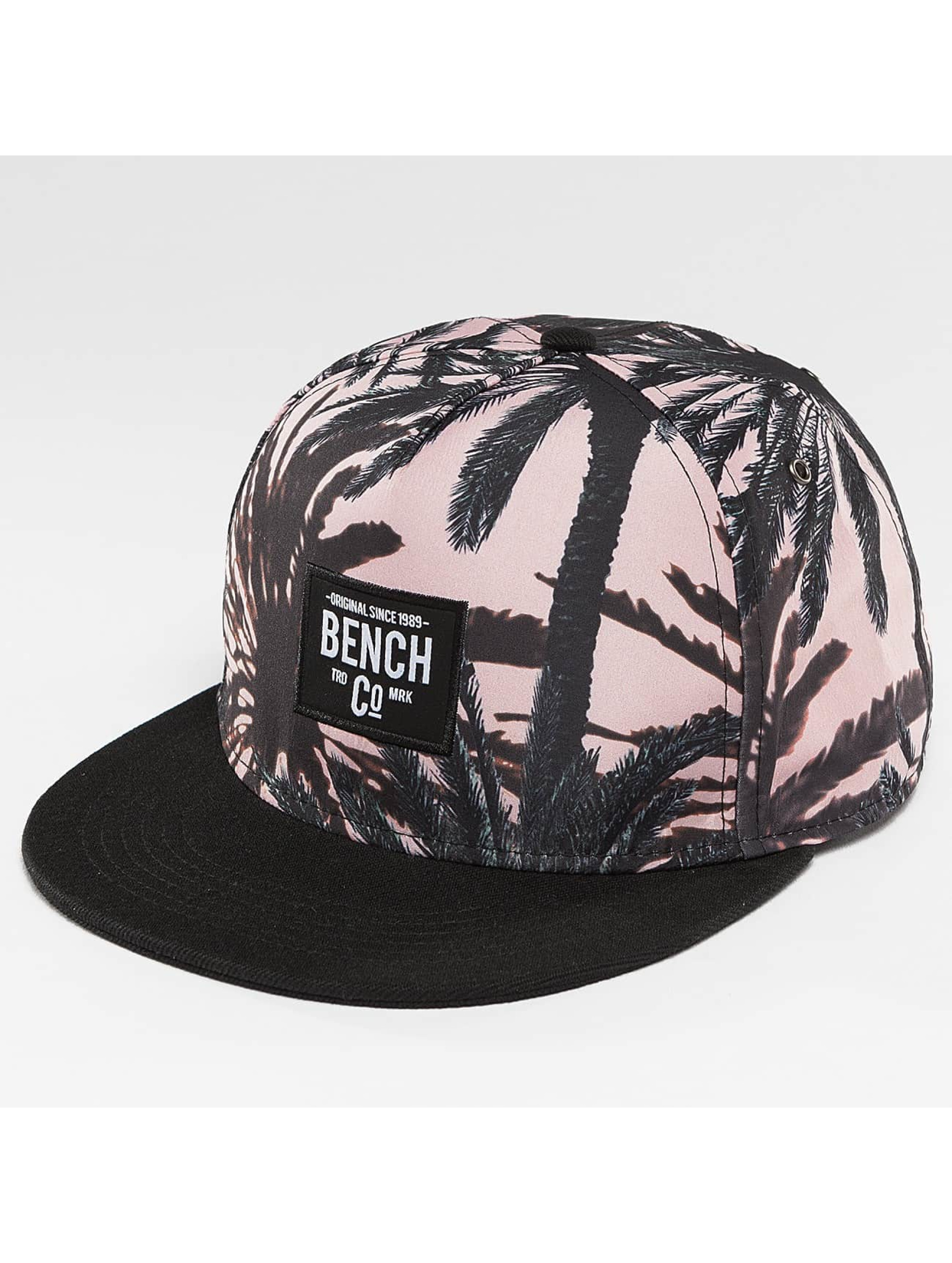 Bench Snapback Cap Palm Print black