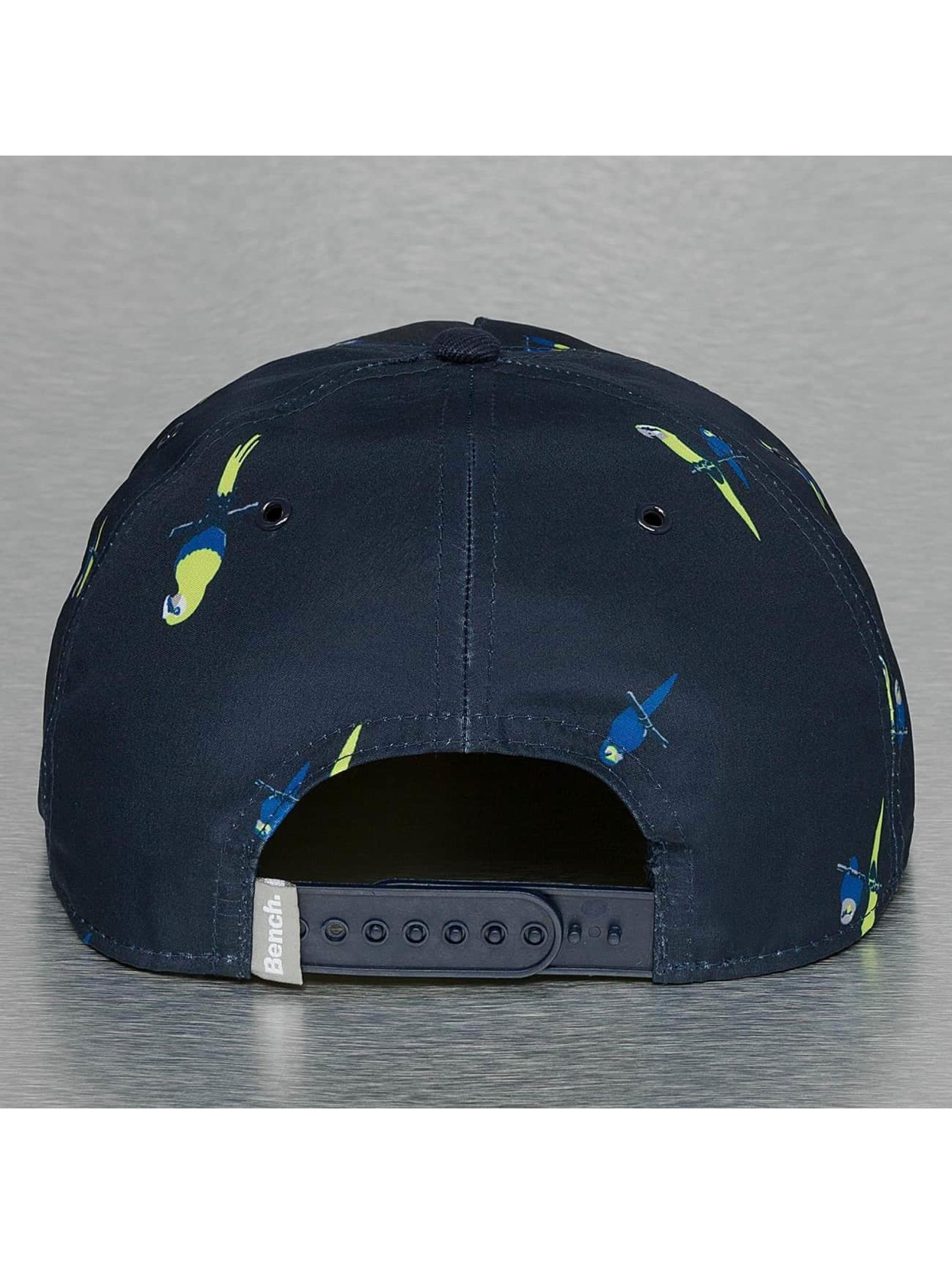 Bench Snapback Cap Parrot Print blue