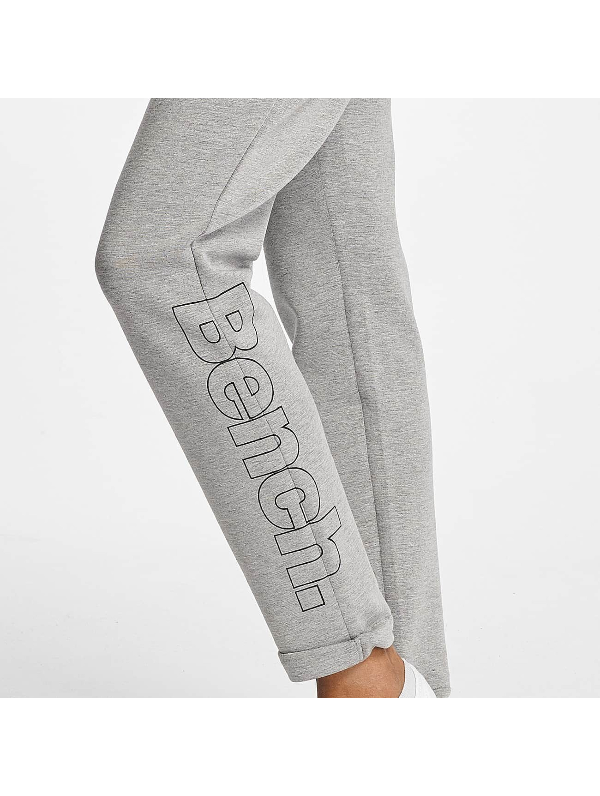 Bench Spodnie do joggingu Core Colorblock szary