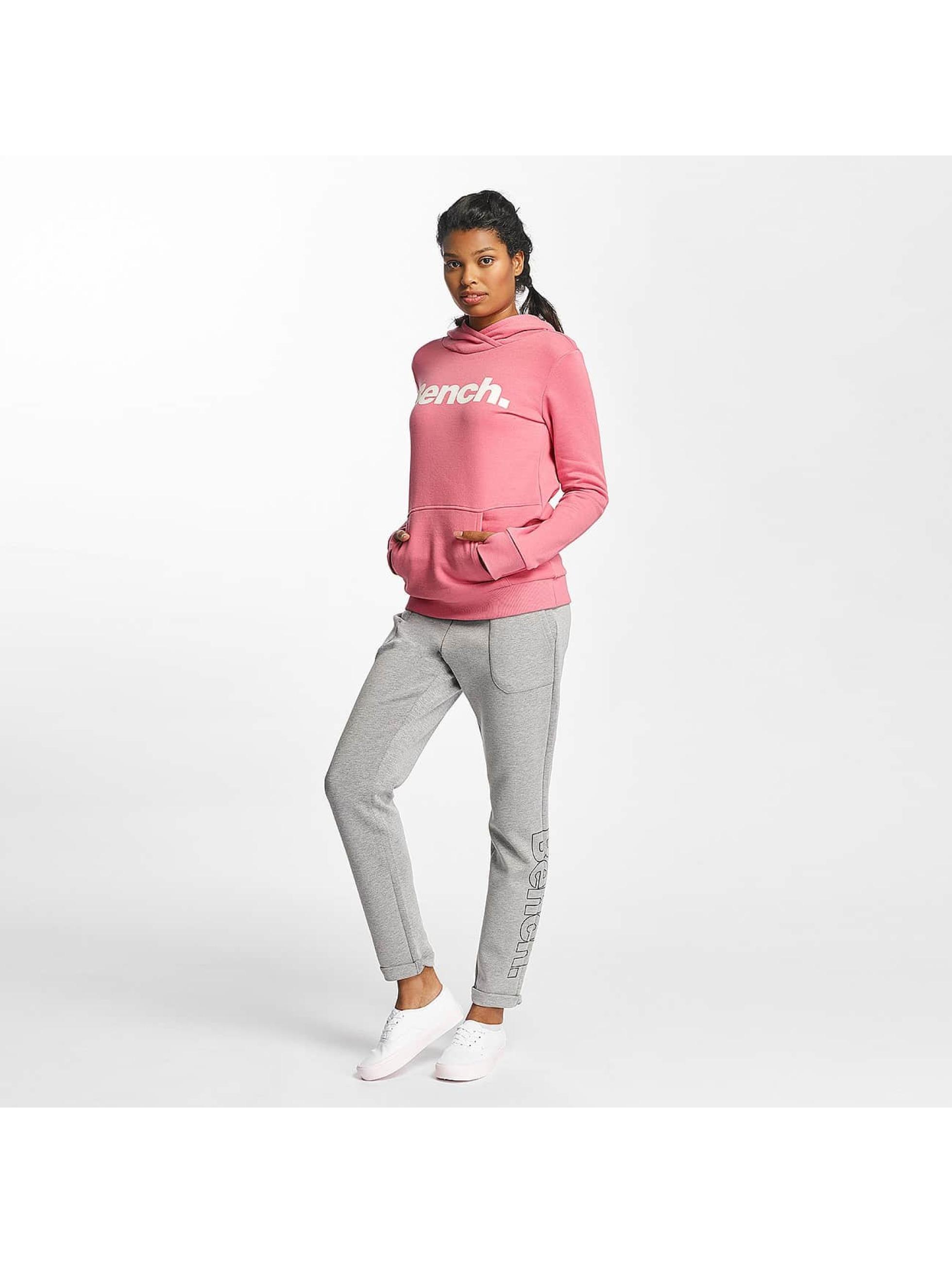 Bench Sudadera Crop Print rosa