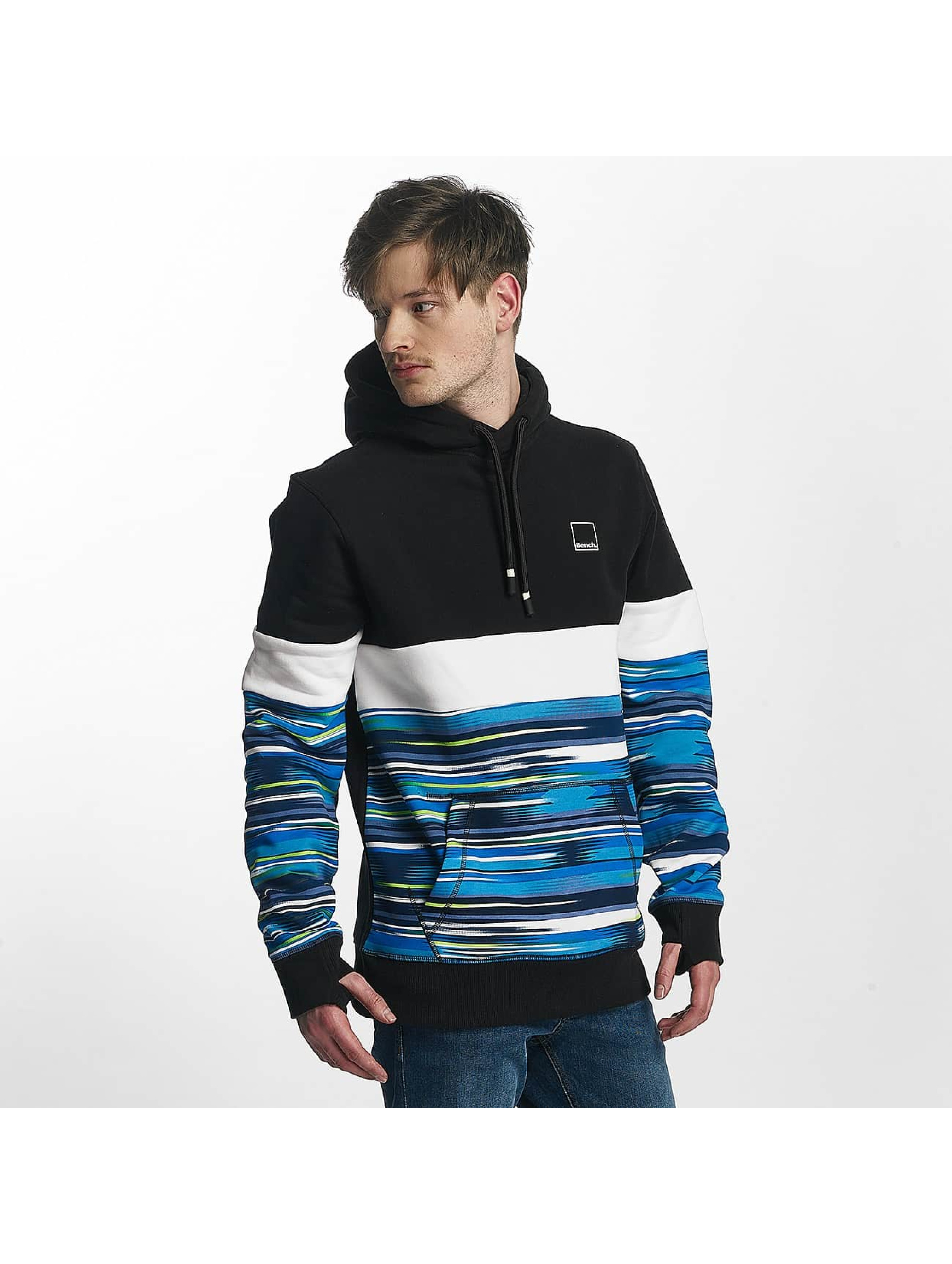 Bench Sweat capuche Aop noir