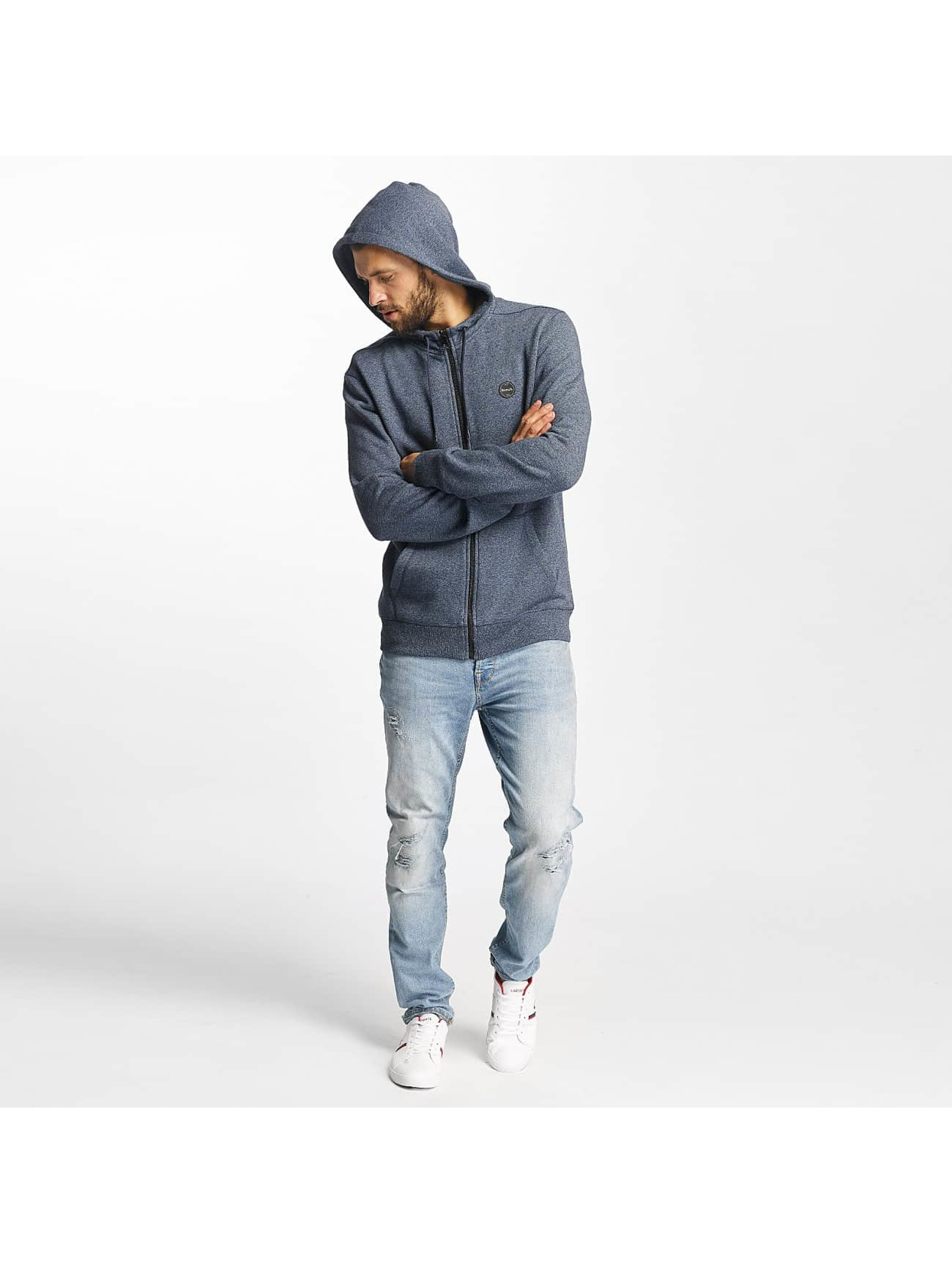 Bench Sweat capuche zippé Basic bleu