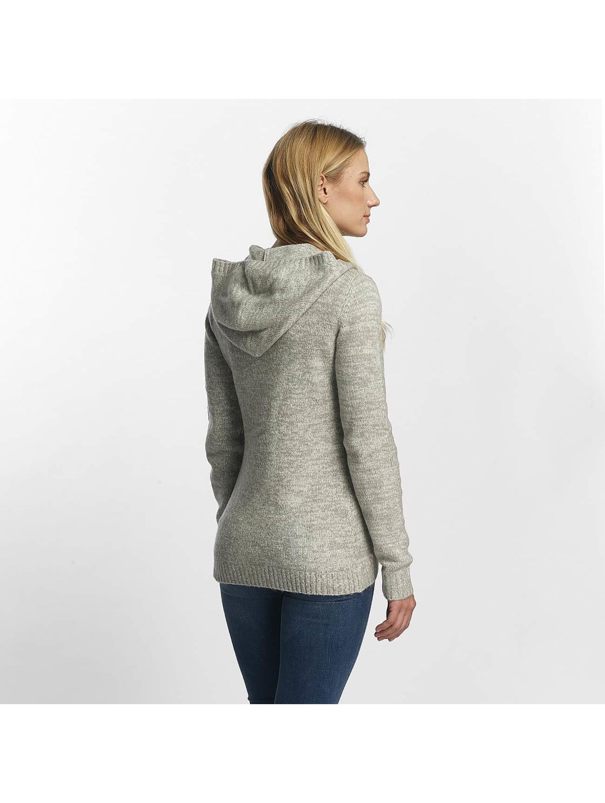 Bench Sweat capuche zippé Asymmetric gris