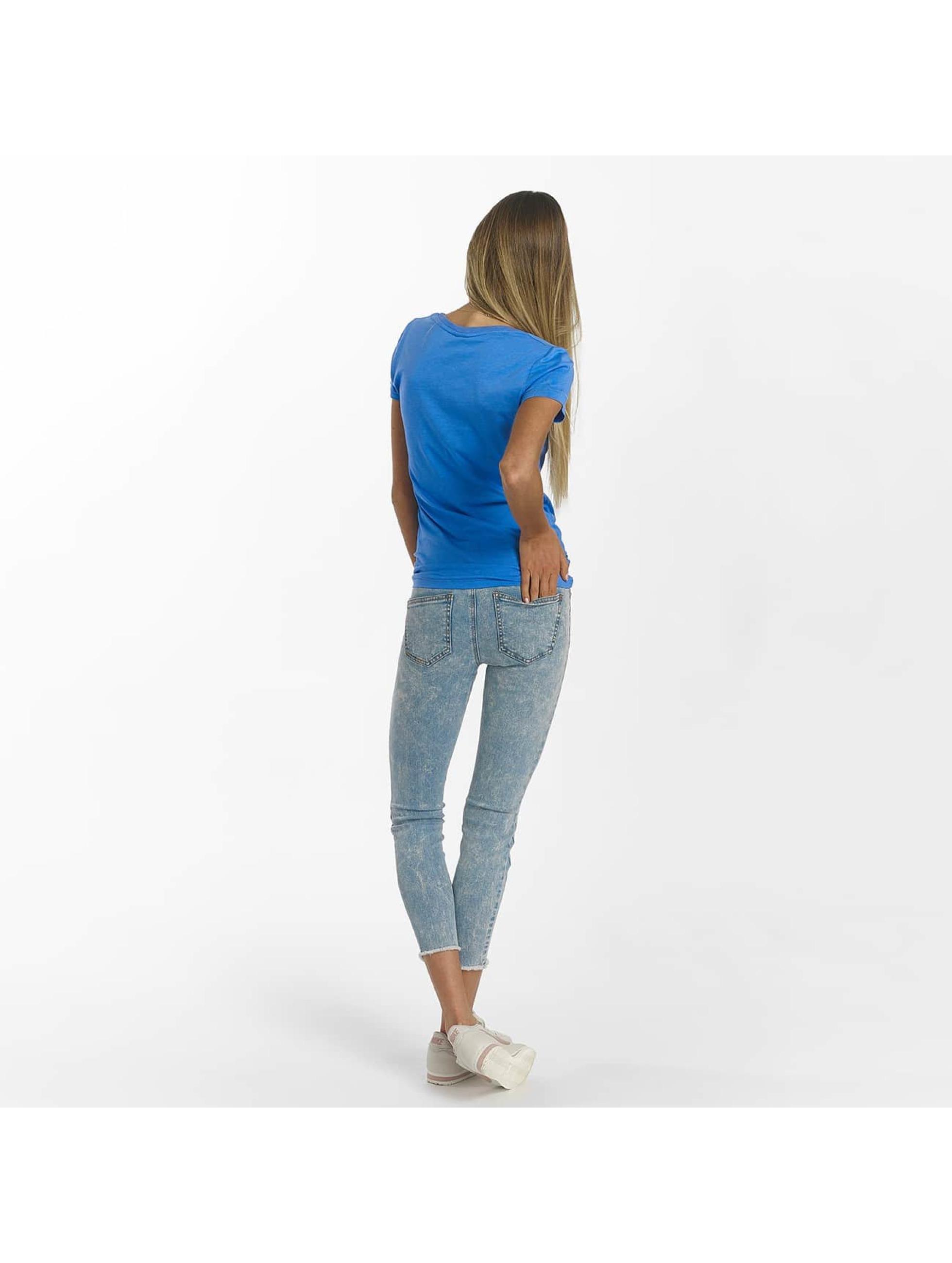Bench T-shirt Slim Logo blå