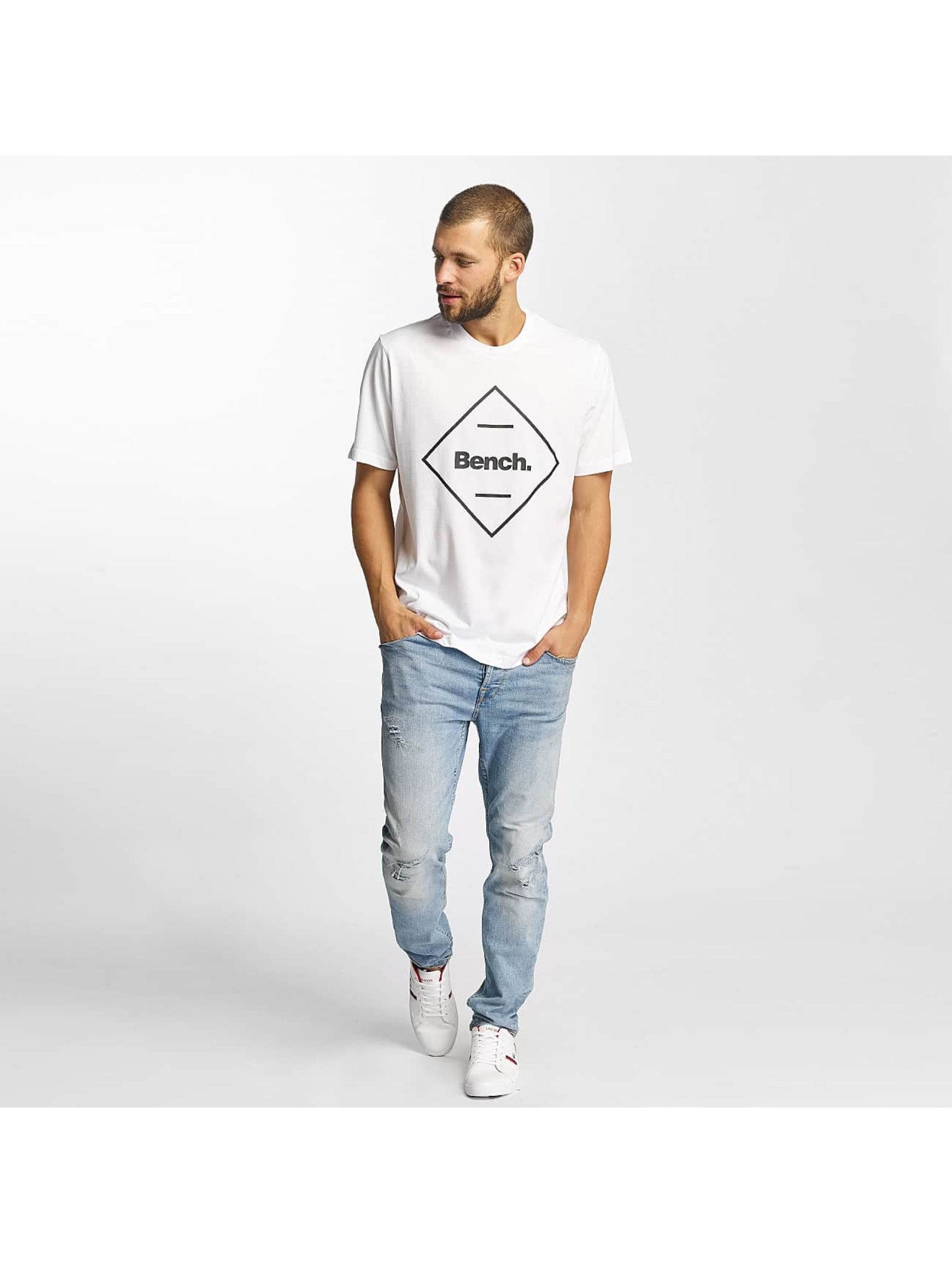 Bench T-Shirt Corp blanc