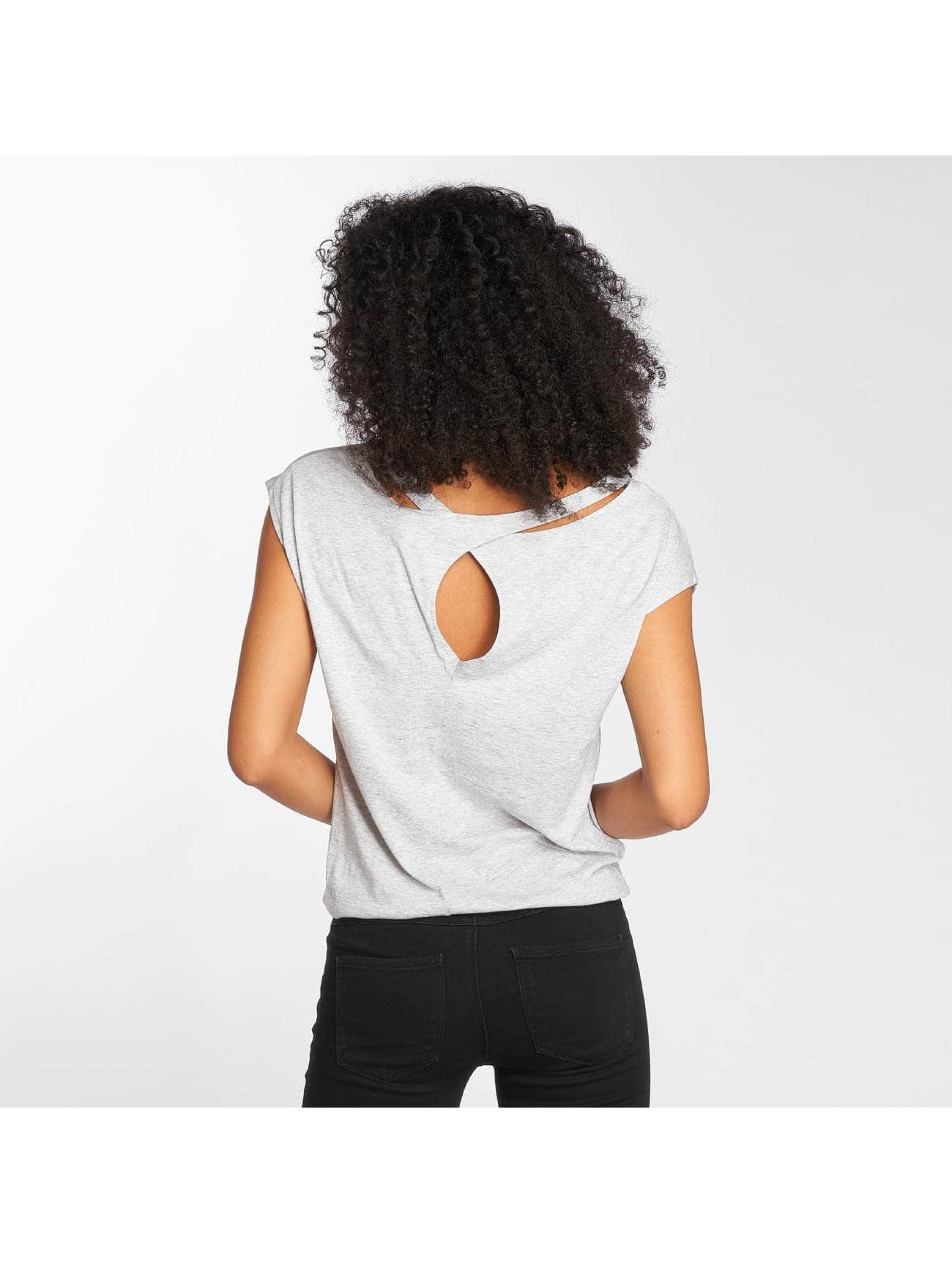 Bench T-Shirt Back Detail grau