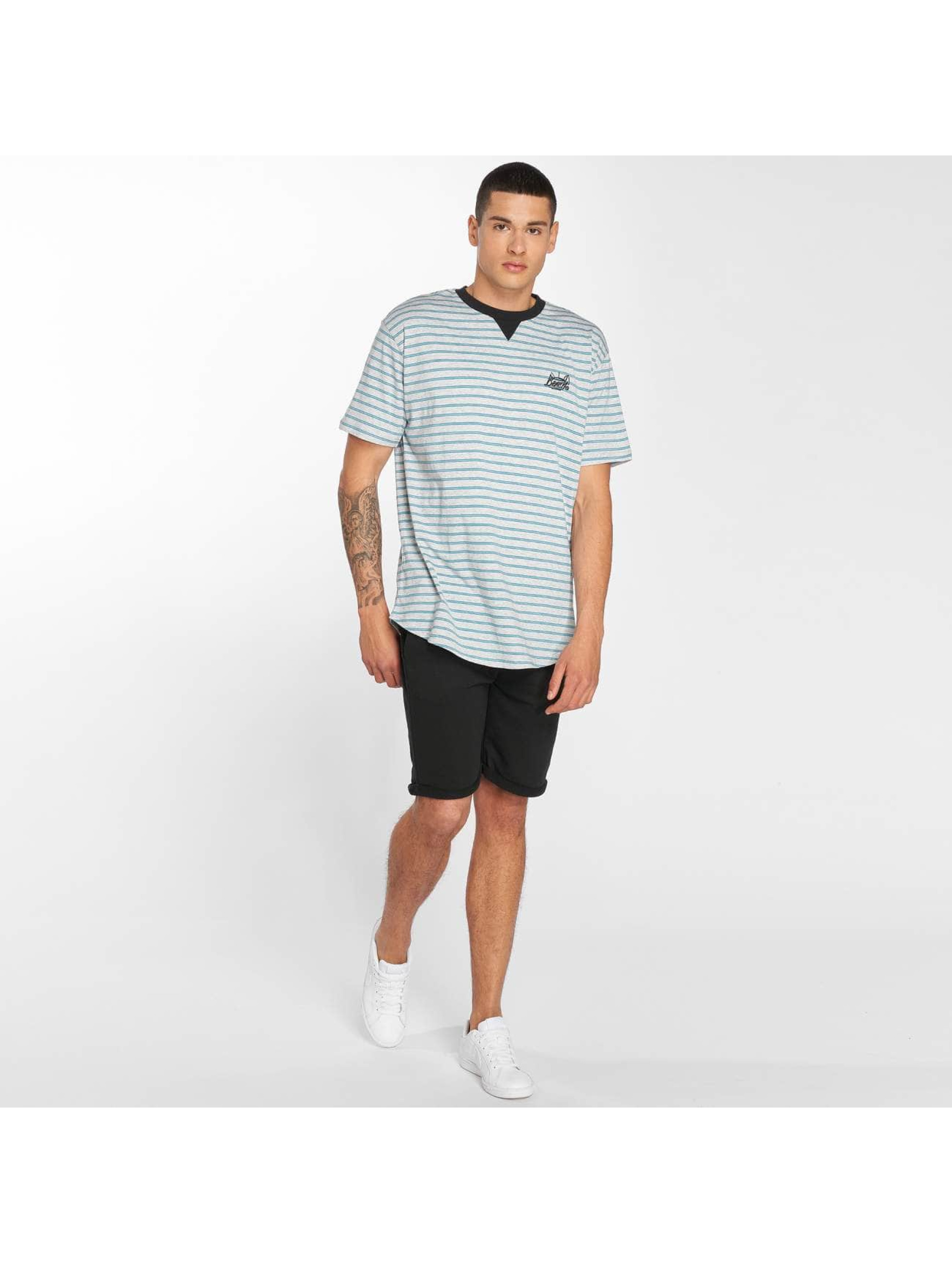 Bench T-Shirt Striped gris