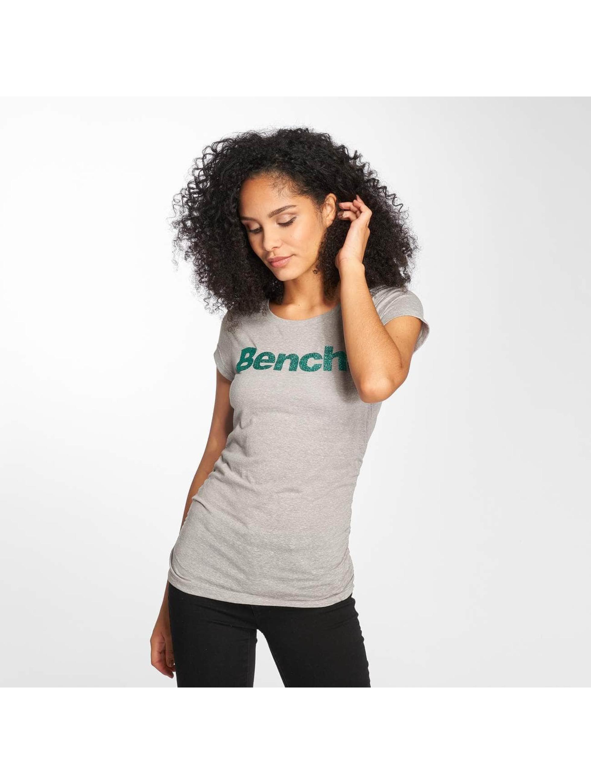 Bench T-Shirt Logo gris