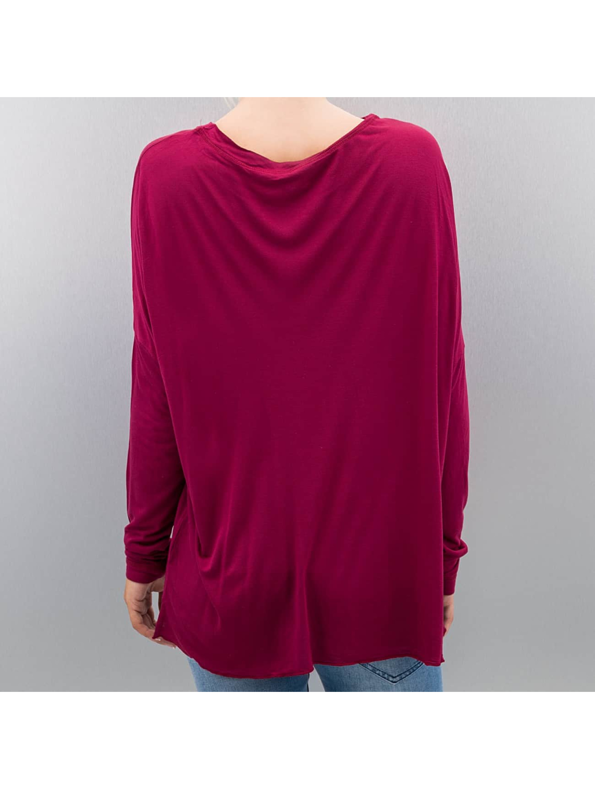 Bench T-Shirt manches longues Performance Addendum Oversize rouge
