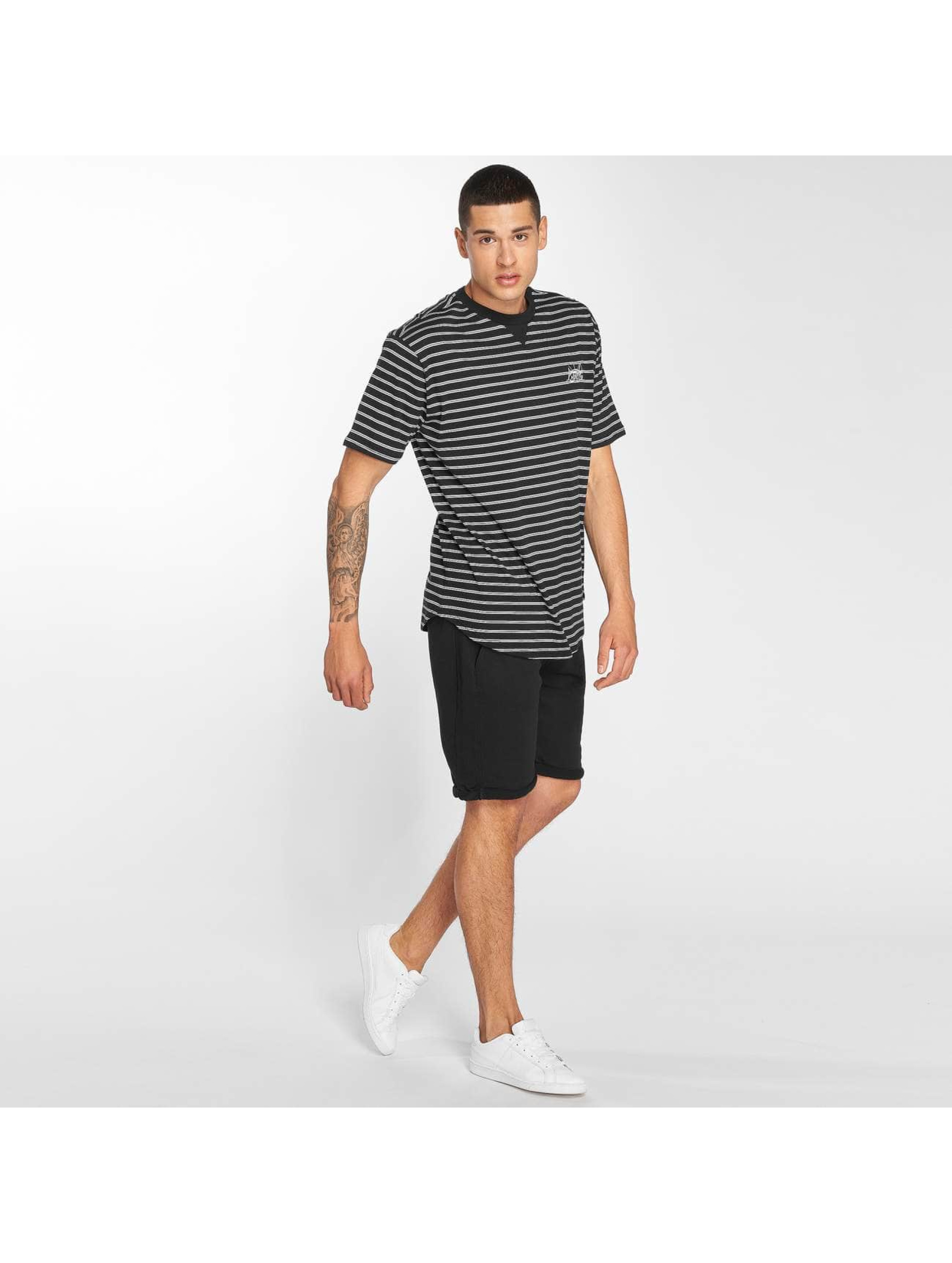 Bench T-Shirt Striped noir