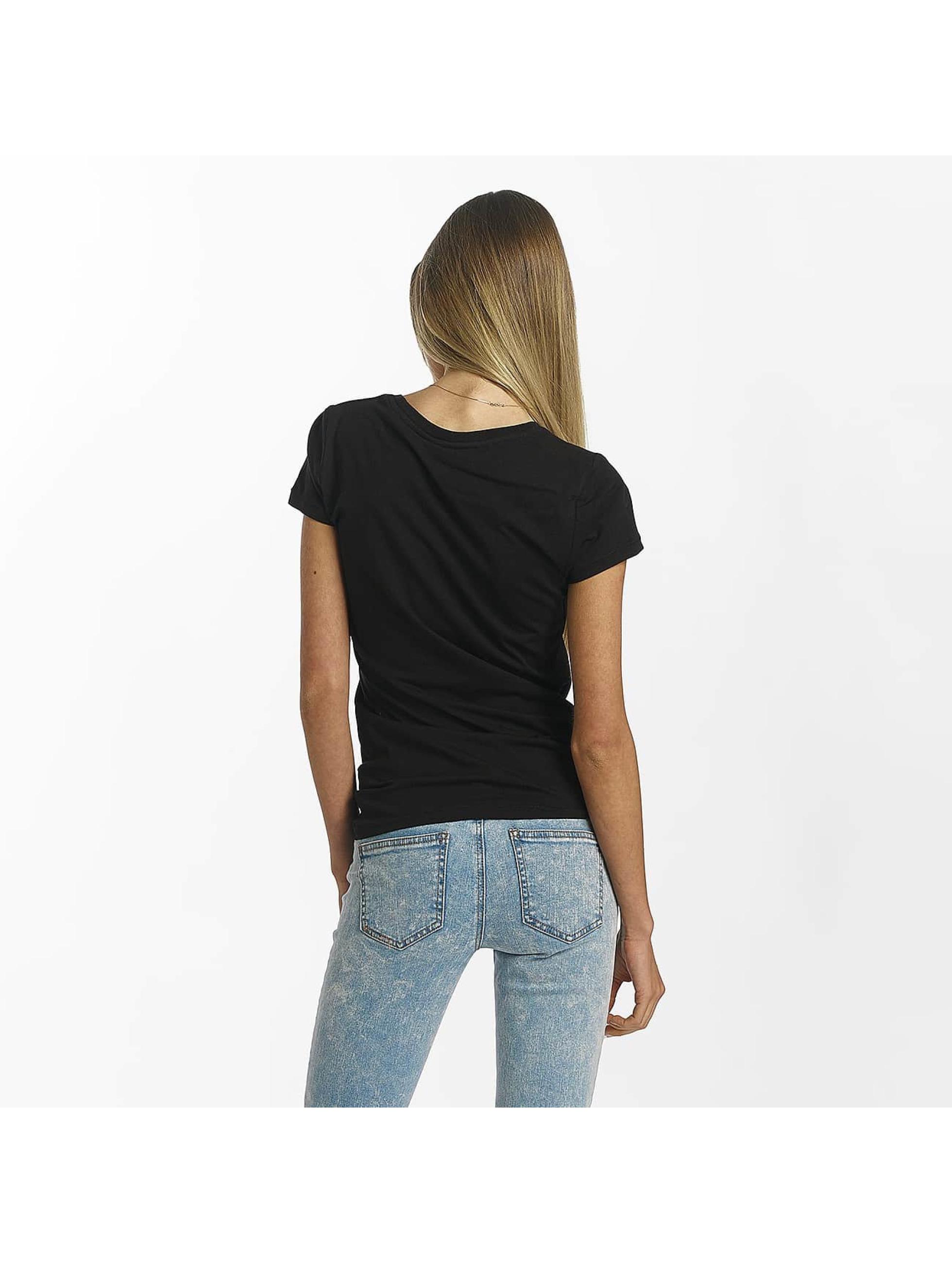 Bench T-shirt Slim Logo svart
