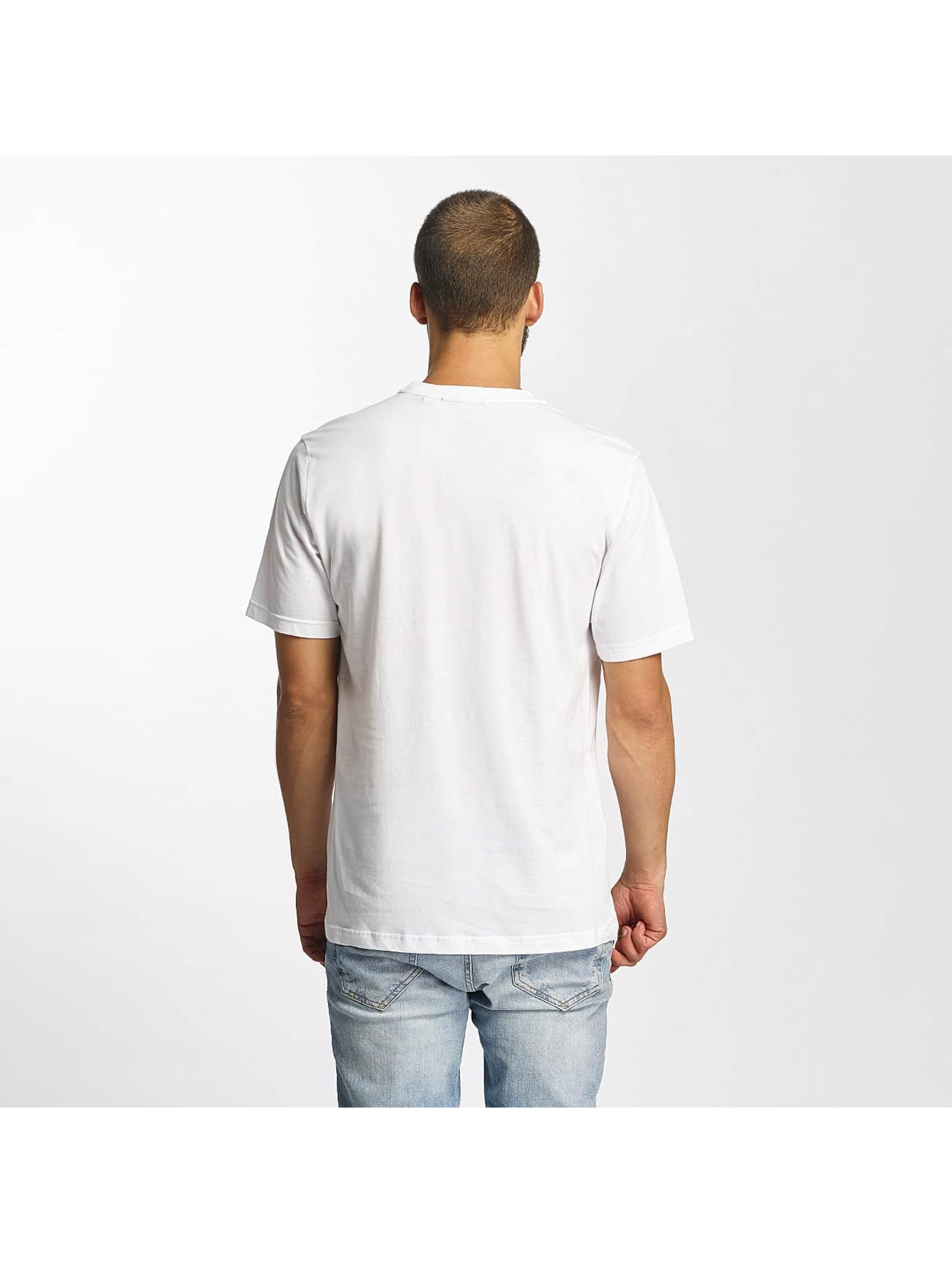 Bench T-Shirty Photoprint Graphic bialy