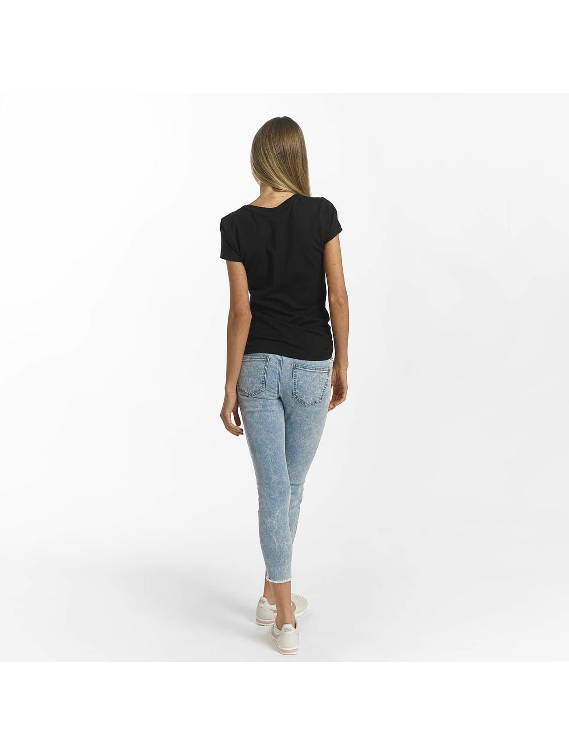 Bench T-Shirty Slim Logo czarny