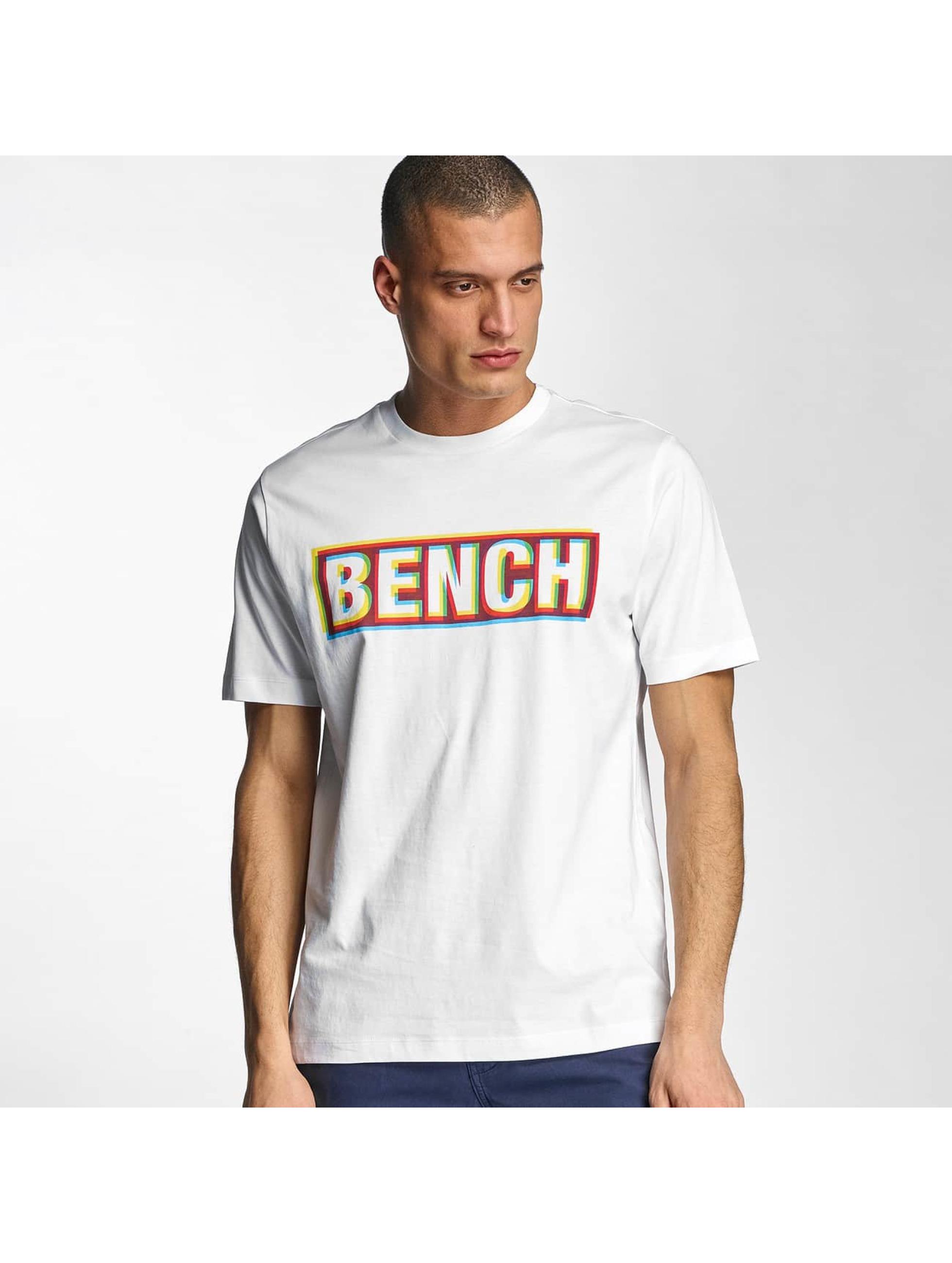 Bench Tričká Logo biela