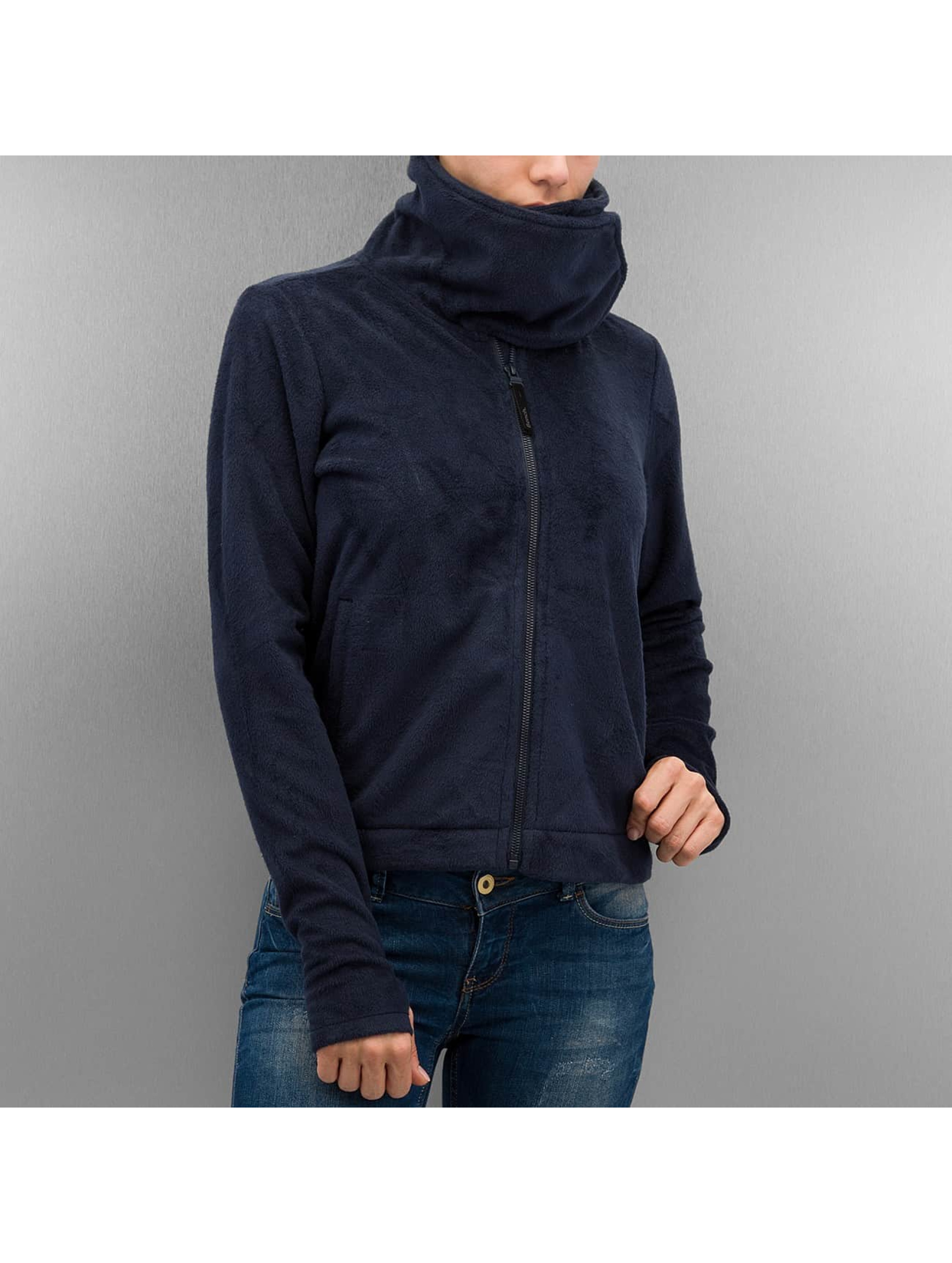 Bench Übergangsjacke Difference Fleece Jacket blau