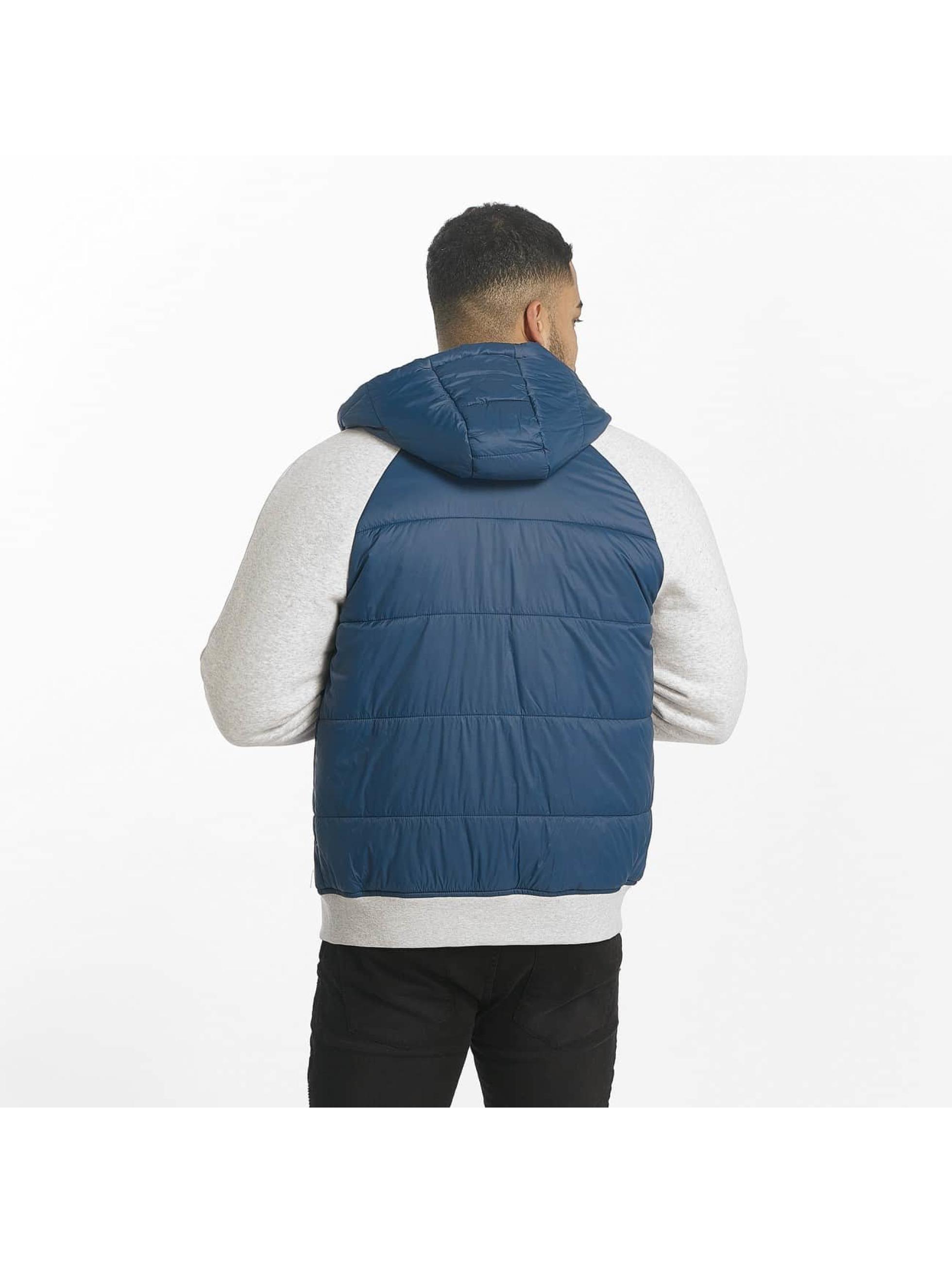 Bench Übergangsjacke Fabric Mix blau