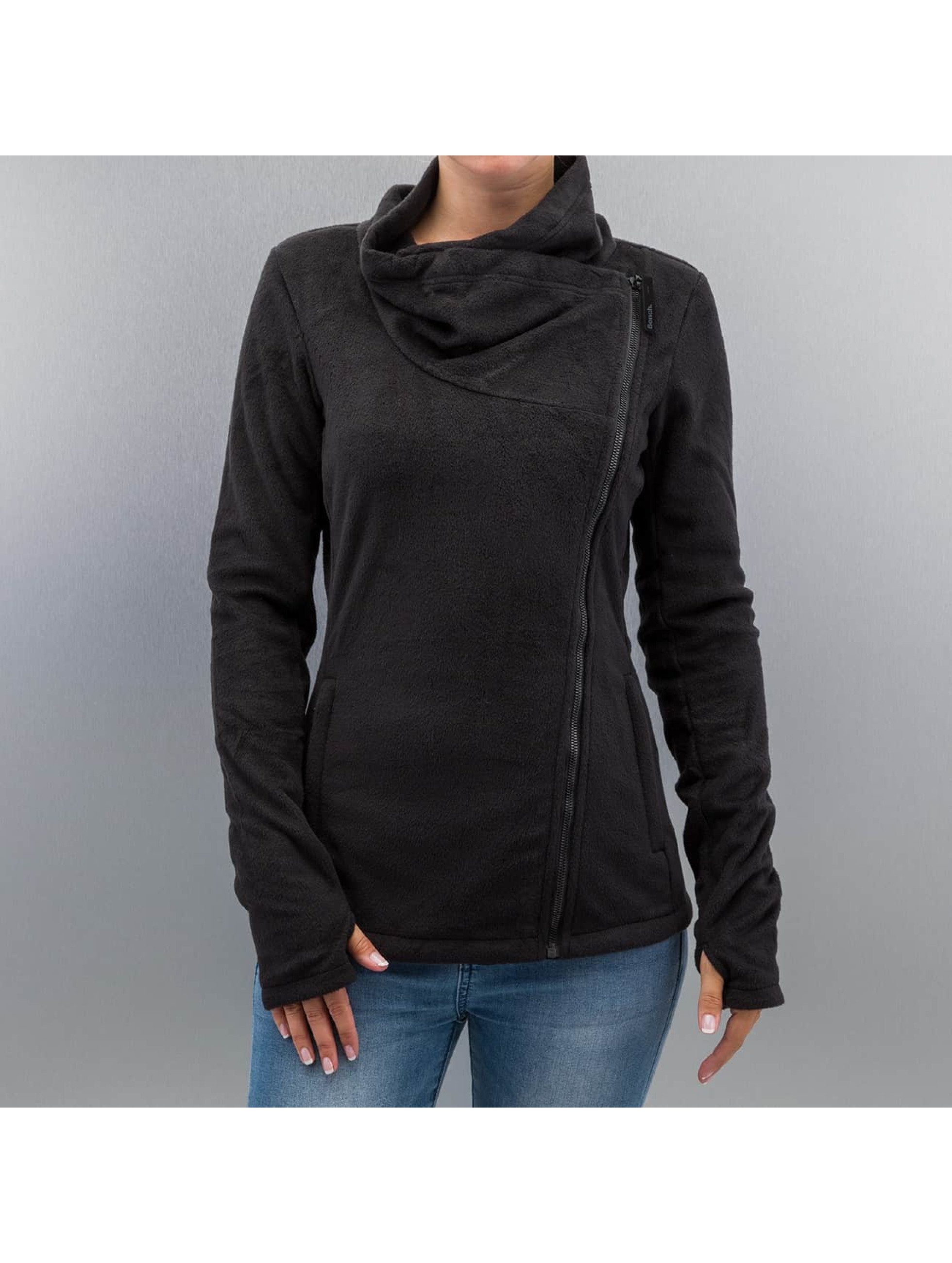 Bench Übergangsjacke Riskrunner B Fleece Jacket schwarz