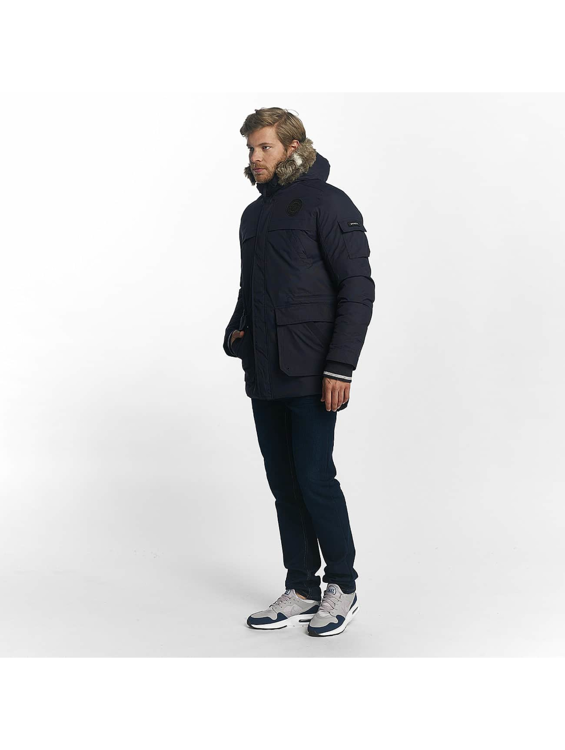 Bench Winter Jacket BLMK001056 blue