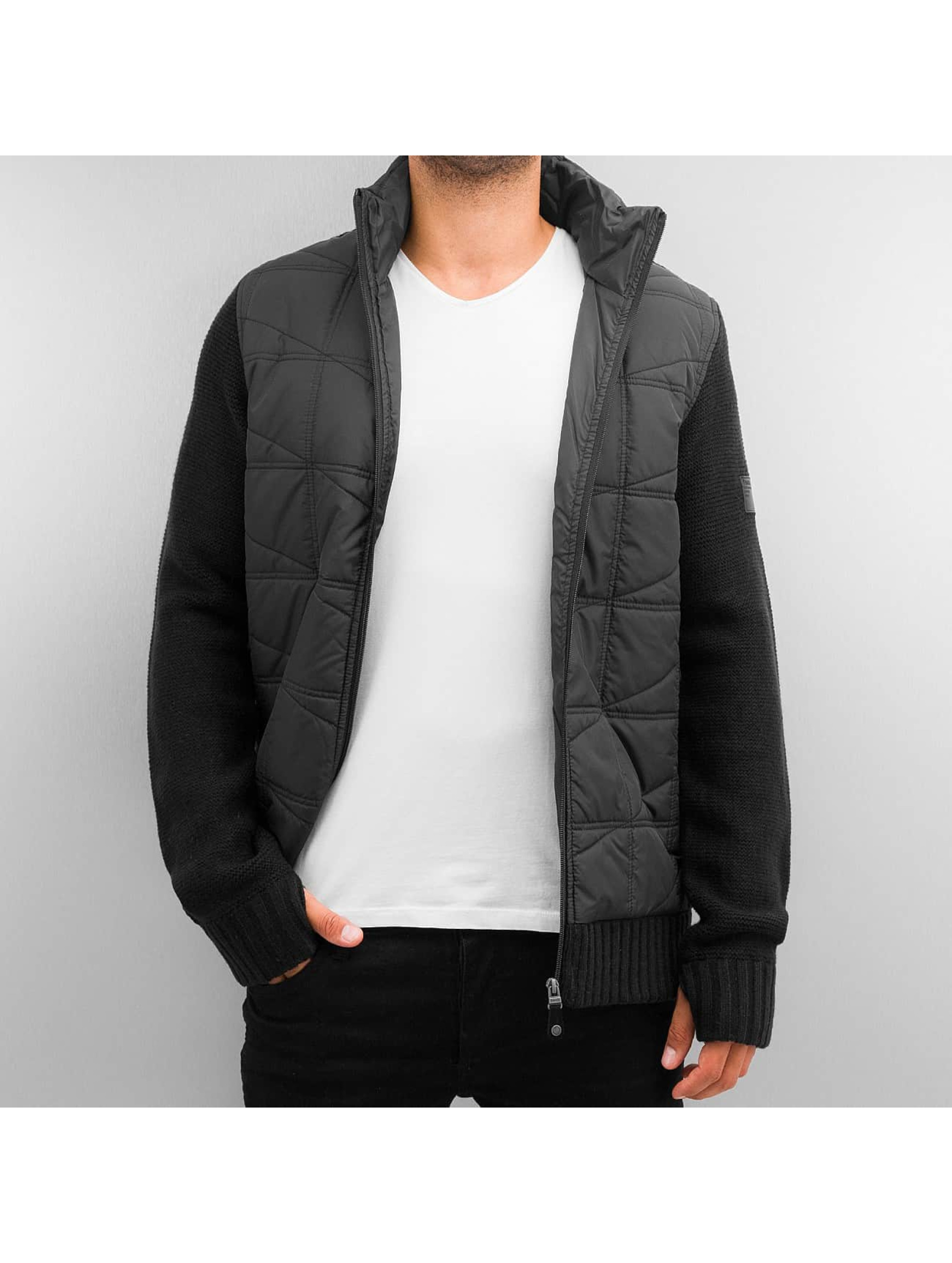 Bench Winterjacke Head schwarz