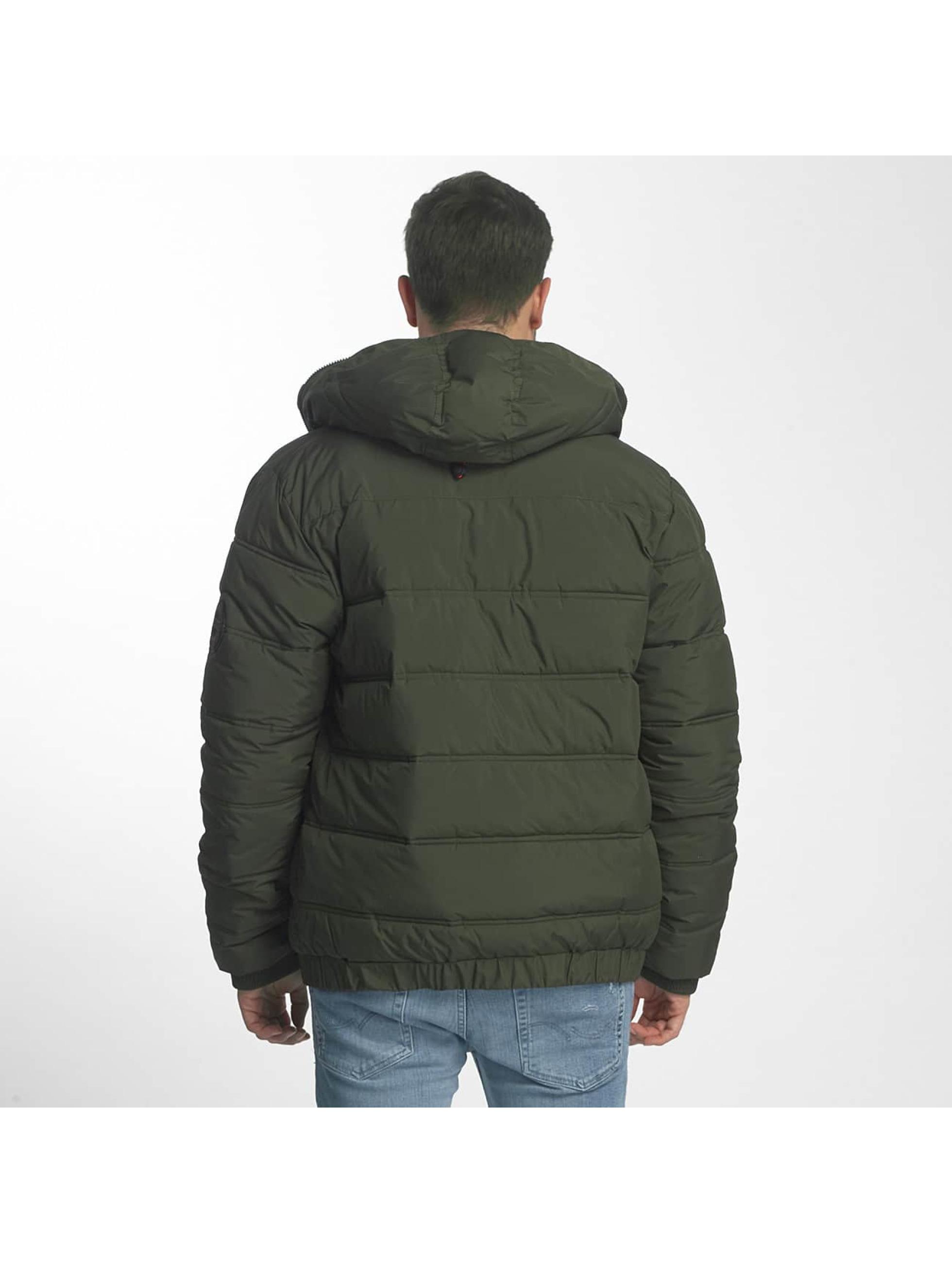 Bench winterjas Schoolboy groen