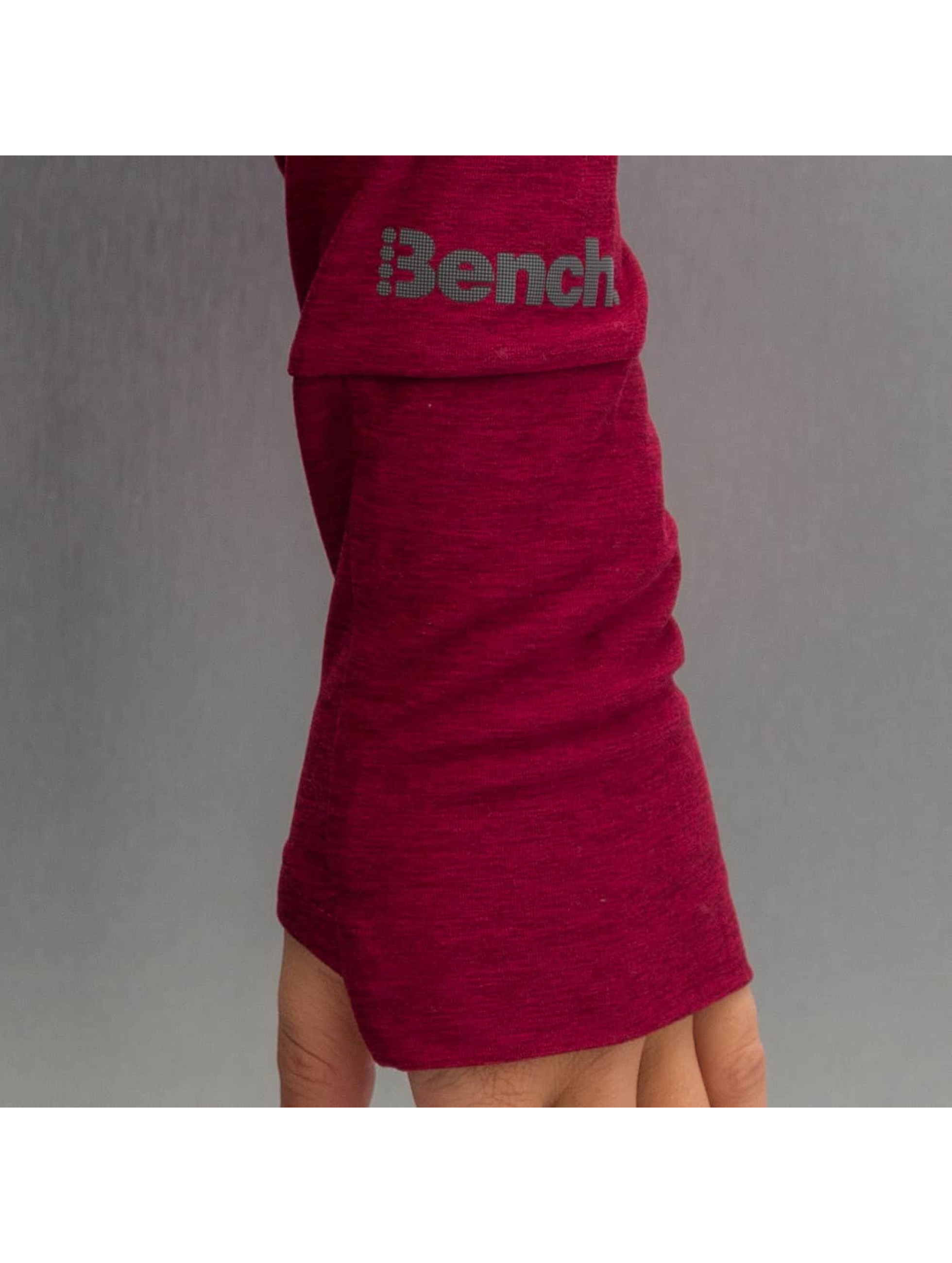Bench Zip Hoodie Performance Sultry B èervená