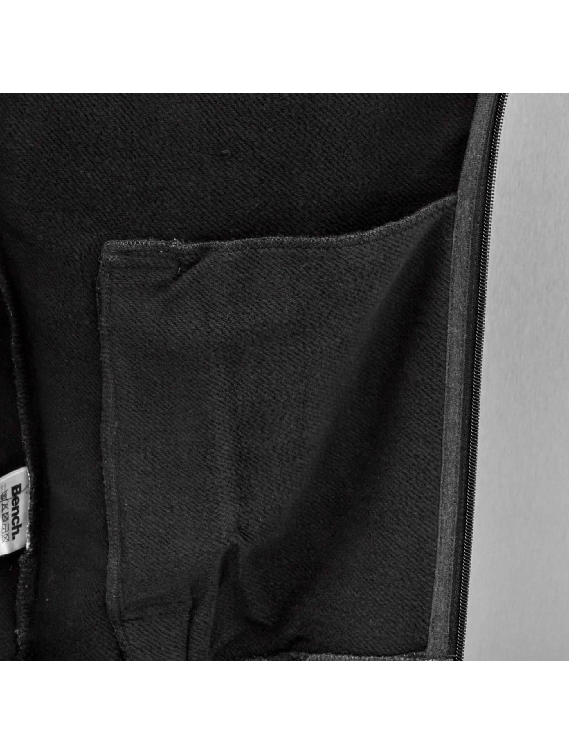 Bench Zip Hoodie Ensnre schwarz