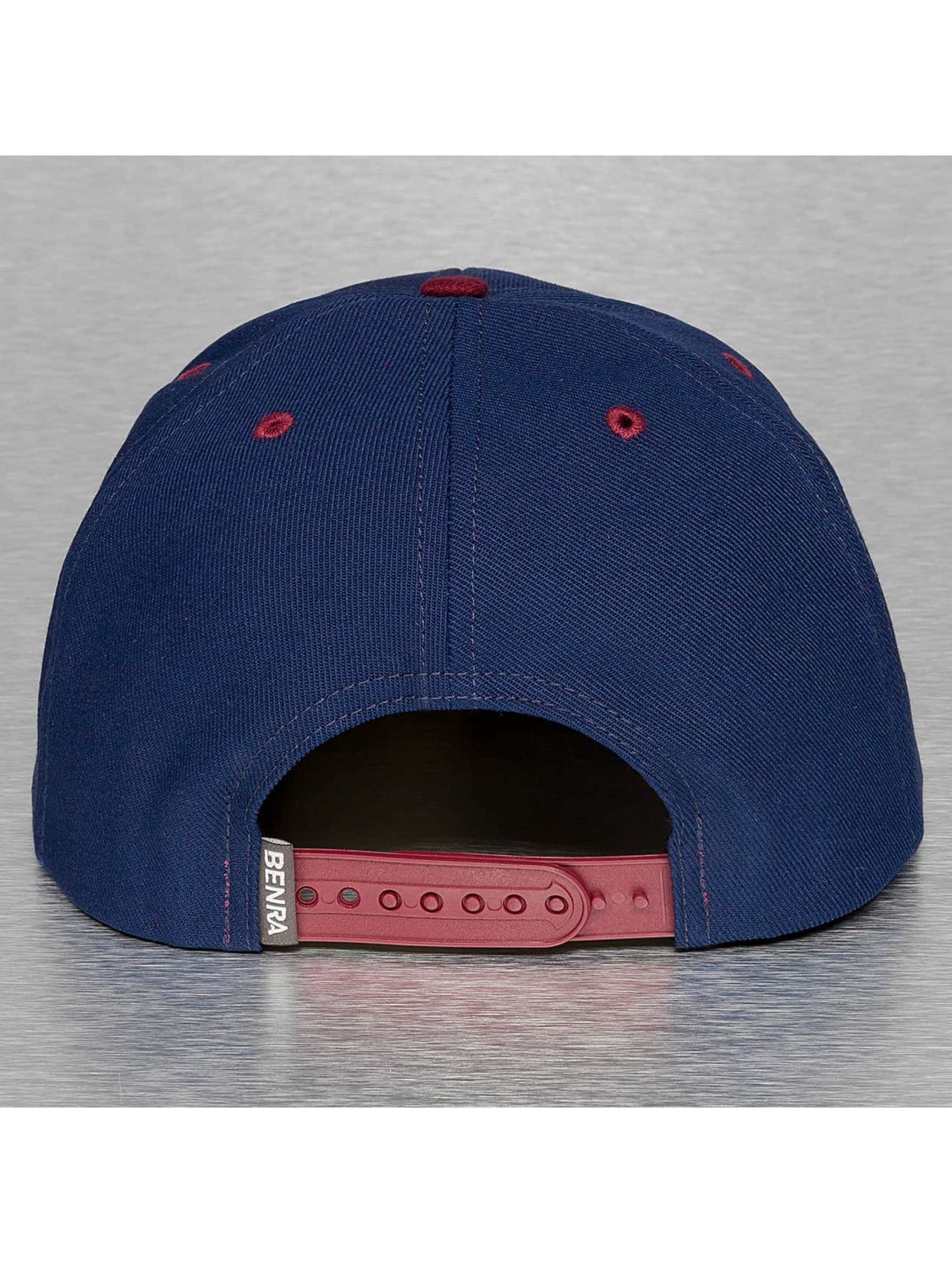 benra Snapback Caps bln sininen